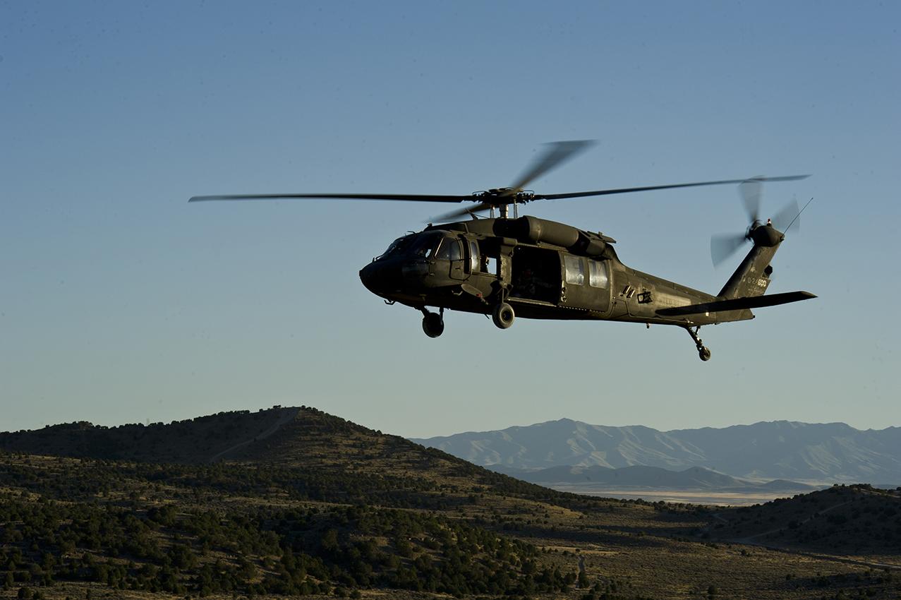 Utah National Guard uses Black Hawk to rescue hiker