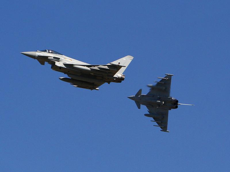UK submits bid for Belgium fighter competition, pitting Typhoon against F-35
