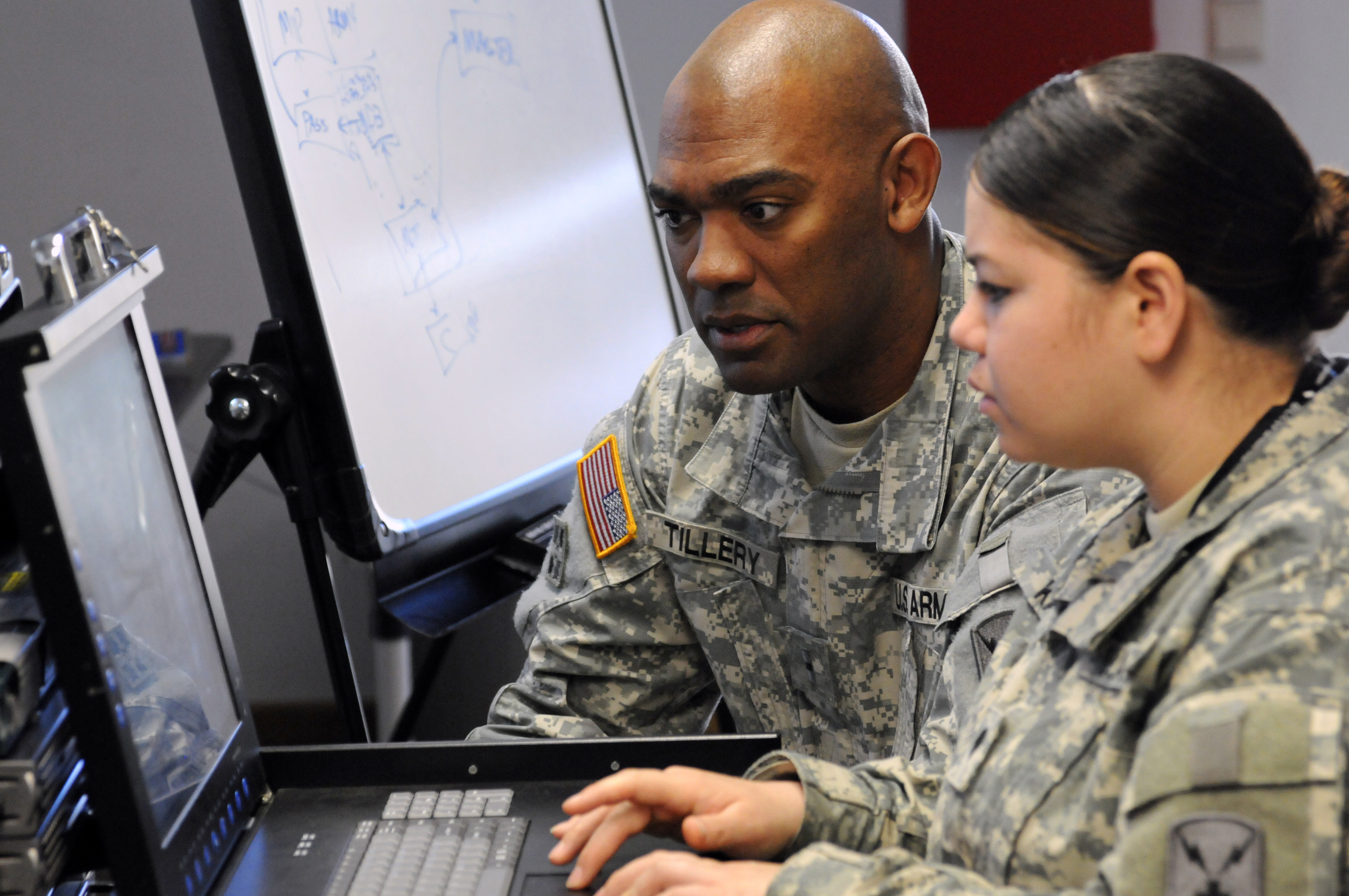 Cyber protection teams can be thought of as quick-reaction forces to assist local owners and are not meant to remain on the network for an extended duration. (Staff Sgt. Shawnon Lott/Army)