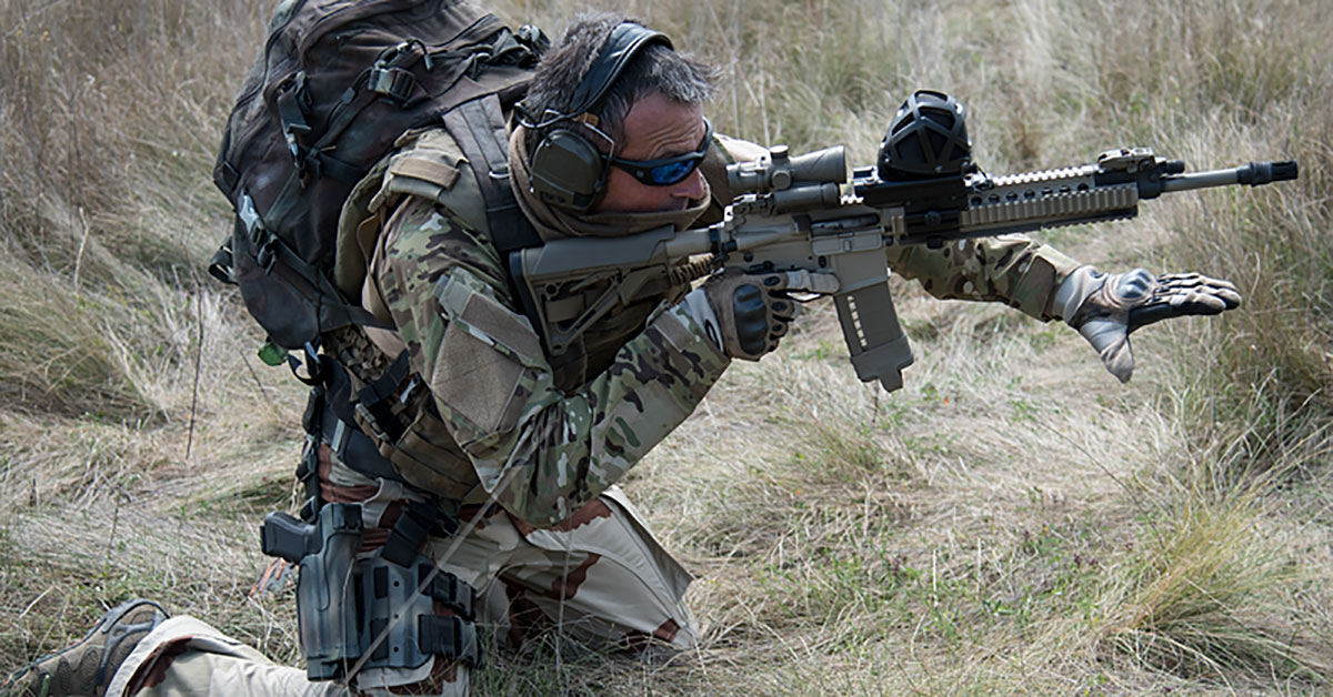 The METRAVIB PEARL shot detection system provides the capability to find in a few seconds and in a very intuitive way the origin of the shots that are threatening troops under fire. (Photo: METRAVIB)