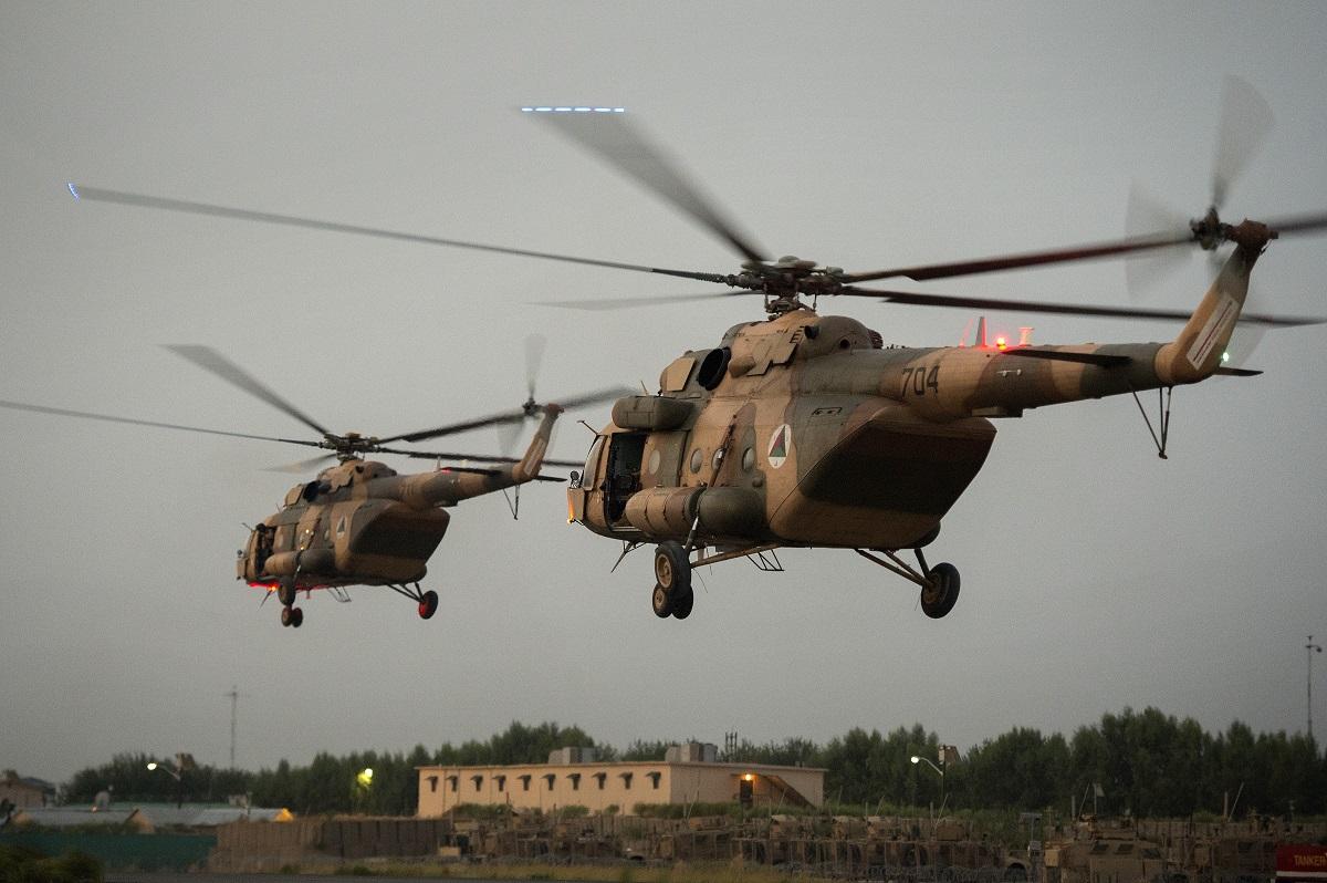 Marines bolster Afghan air casualty evacuation skills in Helmand