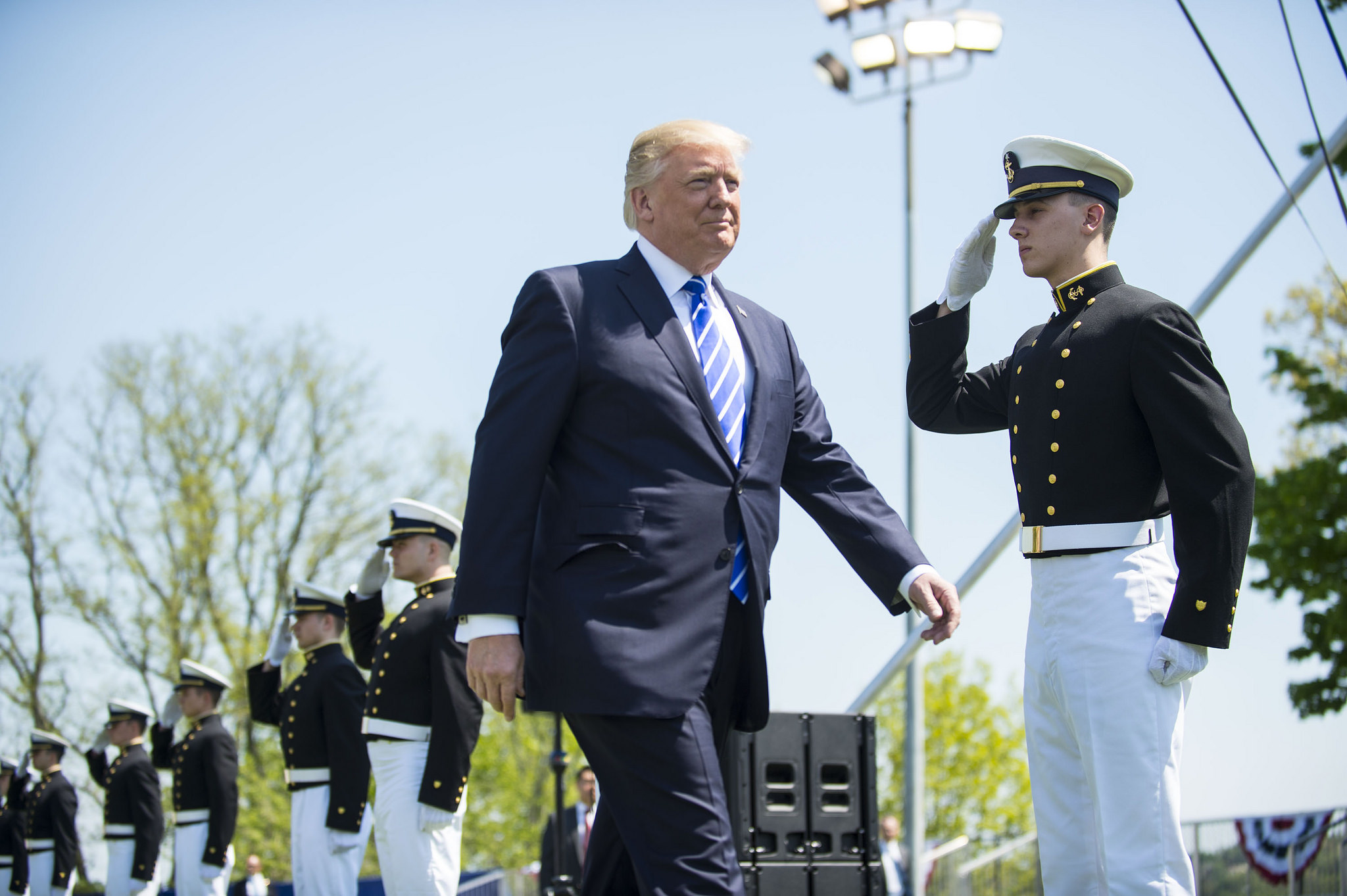 President Donald Trump has a new arms export policy, but what has changed? (Petty Officer 2nd Class Richard Brahm/U.S. Coast Guard)