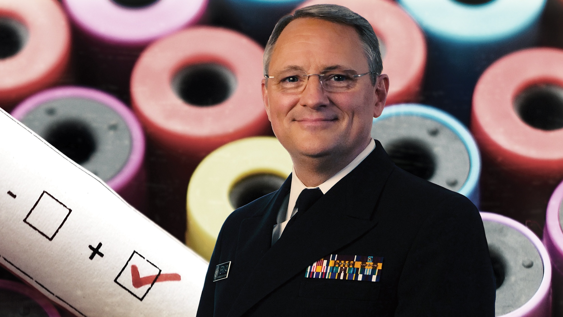 Dr. Daniel Jernigan, director of the Influenza Division of the National Center for Immunization and Respiratory Diseases and recipient of the Science and Environment Medal. (Braun Film and Video, Inc.)