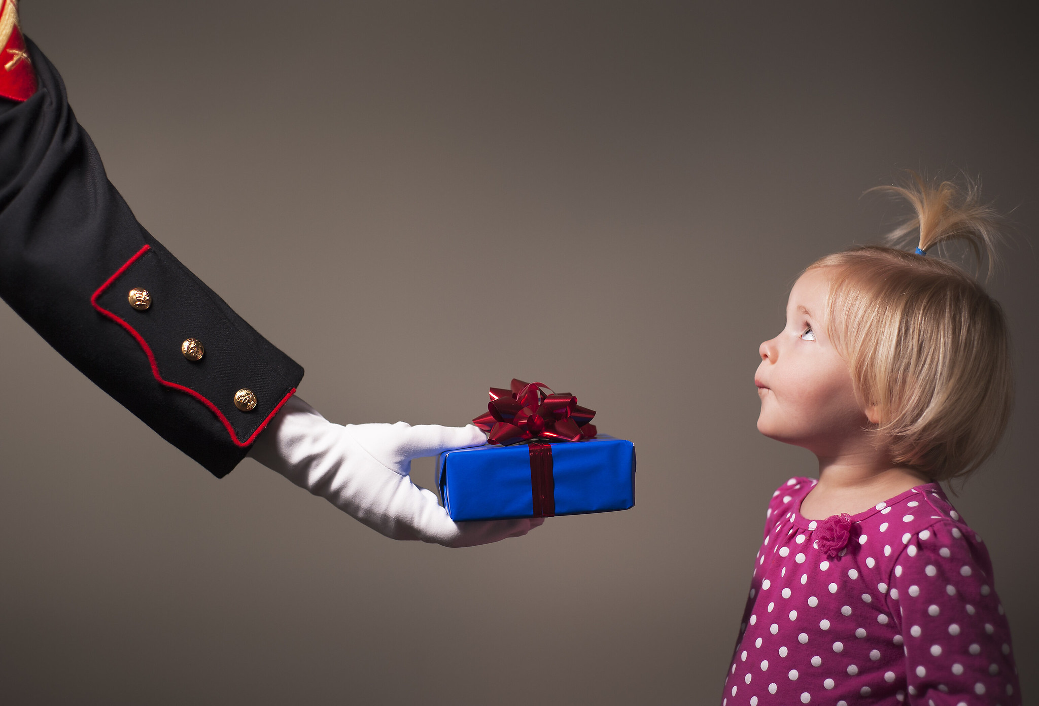 Since 1947, the U.S. Marine Corps Reserve Toys for Tots Program has distributed toys to children in need. (Staff Sgt. Mark Fayloga/Marine Corps)
