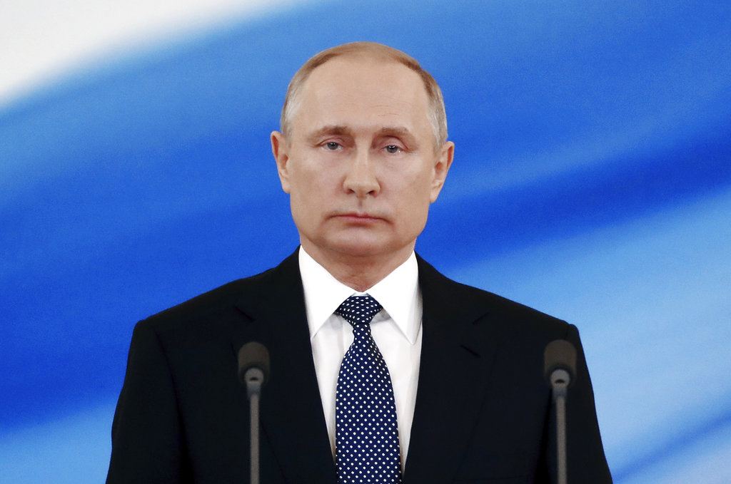 Vladimir Putin and the Russian government have been accused of repeatedly hacking the U.S. (Mikhail Metzel/Sputnik, Kremlin Pool Photo via AP)