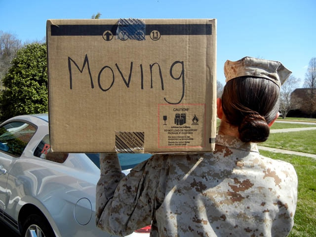 Your PCS move may be even worse than usual thanks to a computer problem. (Marine Corps)