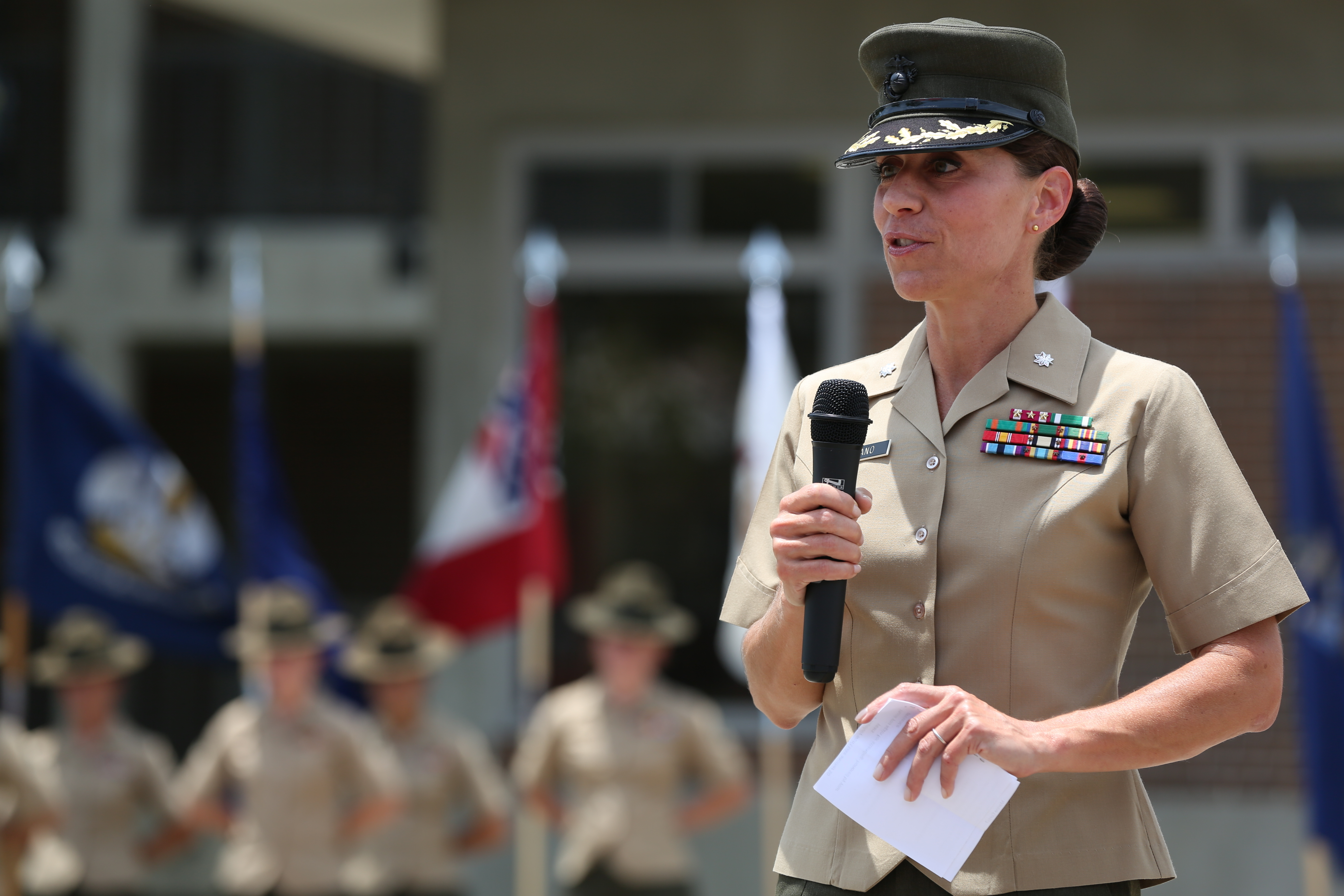 This retired Marine's book says the Corps has a history of gender bias
