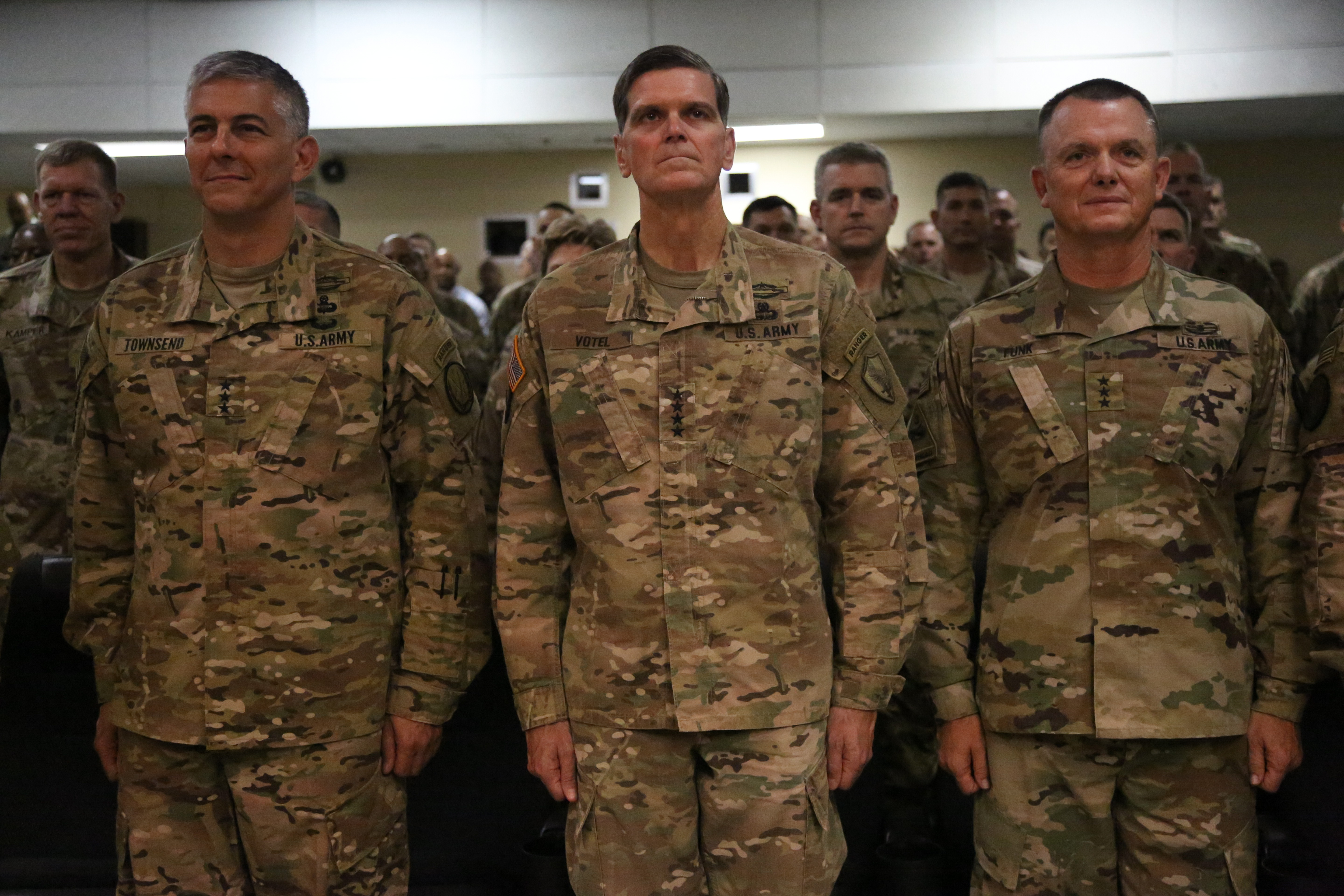 Army Lt. Gen. Funk assumes command of counter-ISIS mission