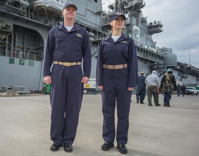 The Navy is rolling out new coveralls, finally