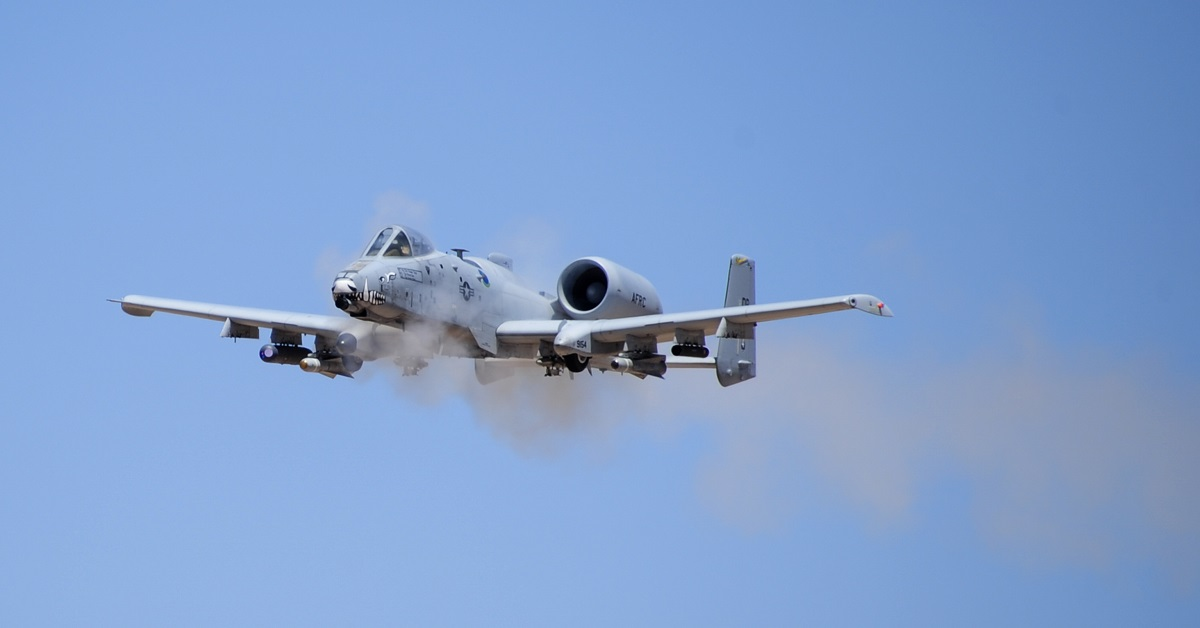 A-10 pilots receive medals for danger close strikes, gun runs amid anti-aircraft artillery