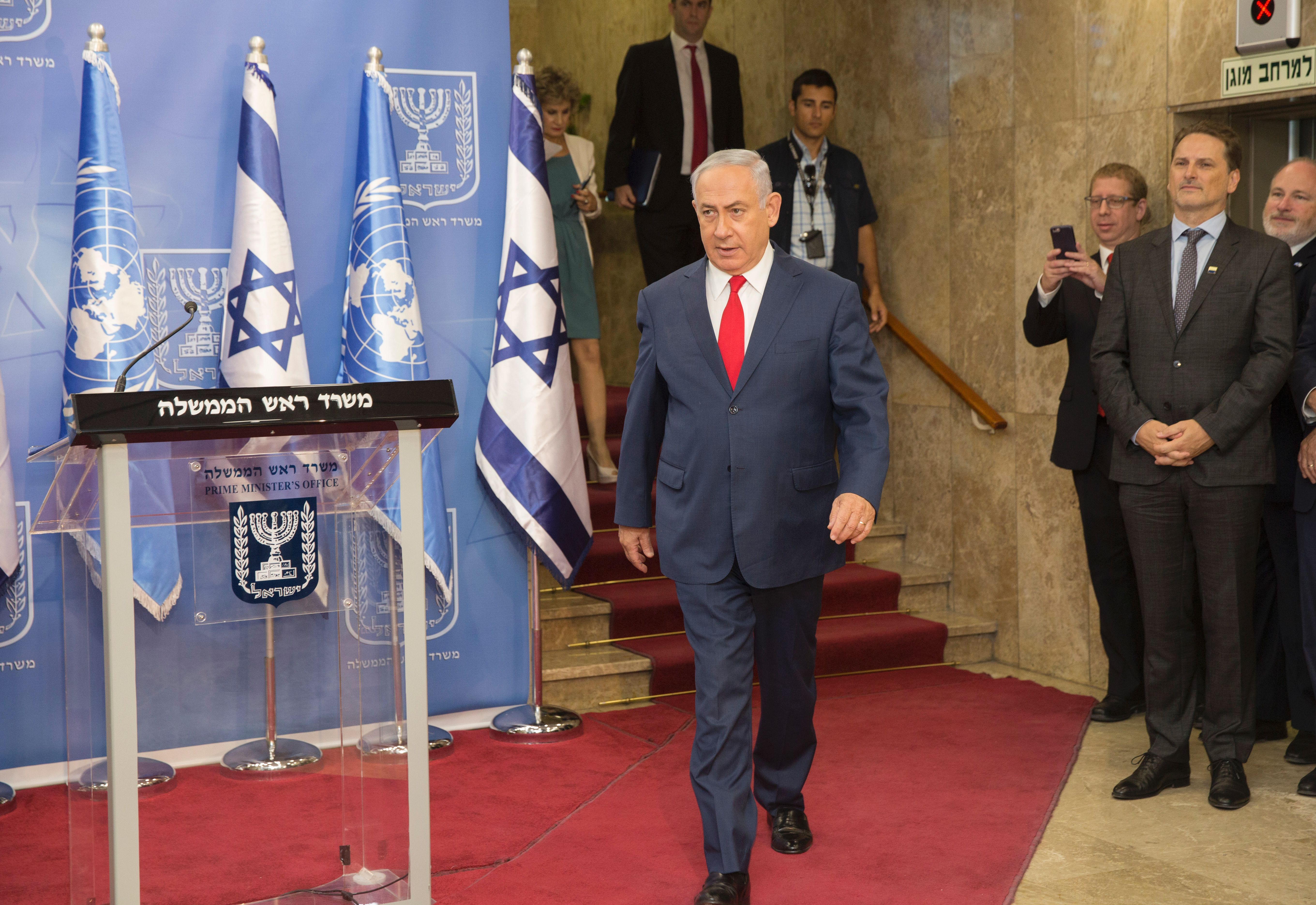 Iran is building missile sites in Syria, says Israel's Netanyahu