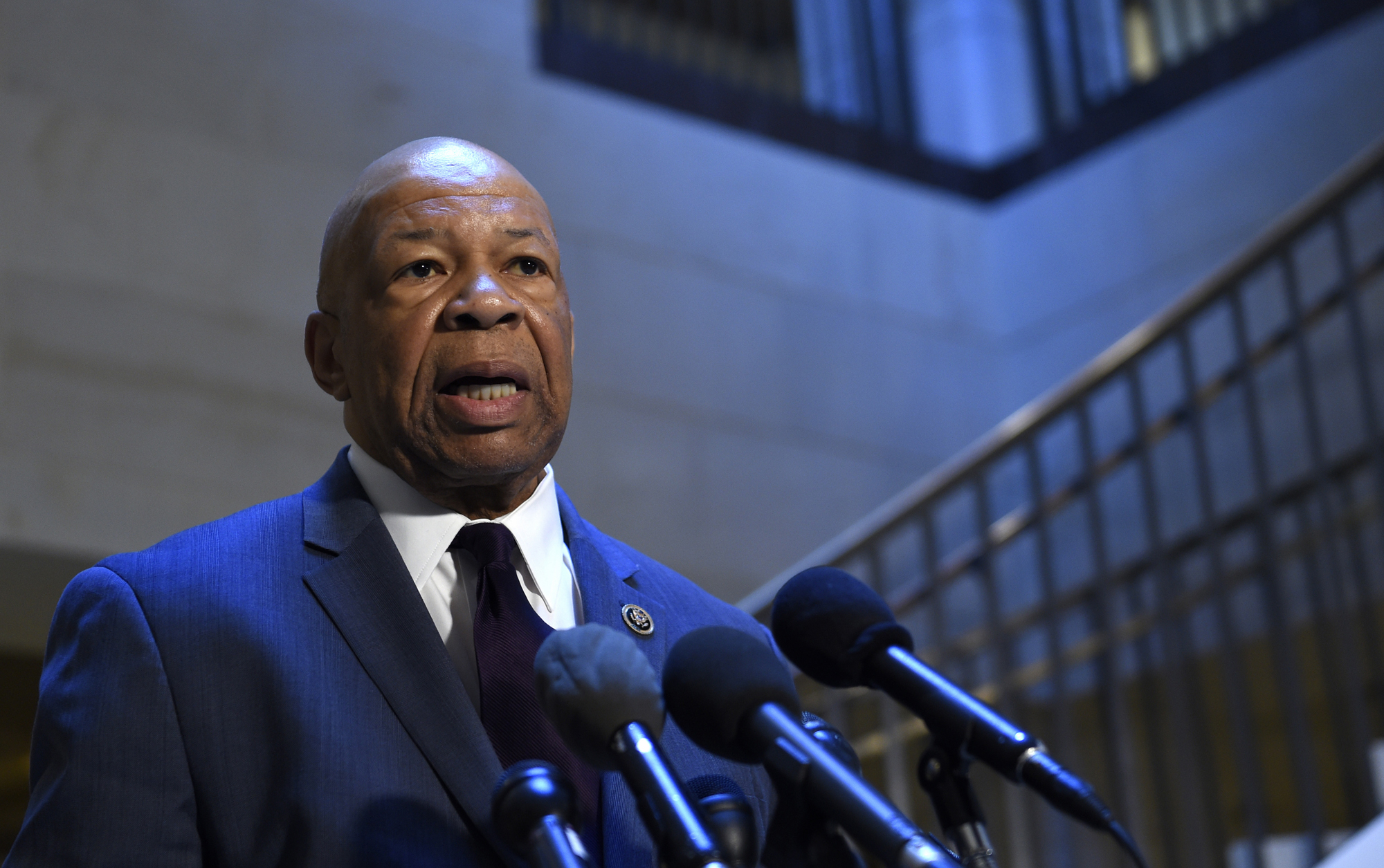 Rep. Elijah Cummings, D-Md., has called on Secretary of State Rex Tillerson to investigate allegations that a member of the Senior Executive Service has humiliated career employees and negatively impacted their work environment. (Susan Walsh/AP)