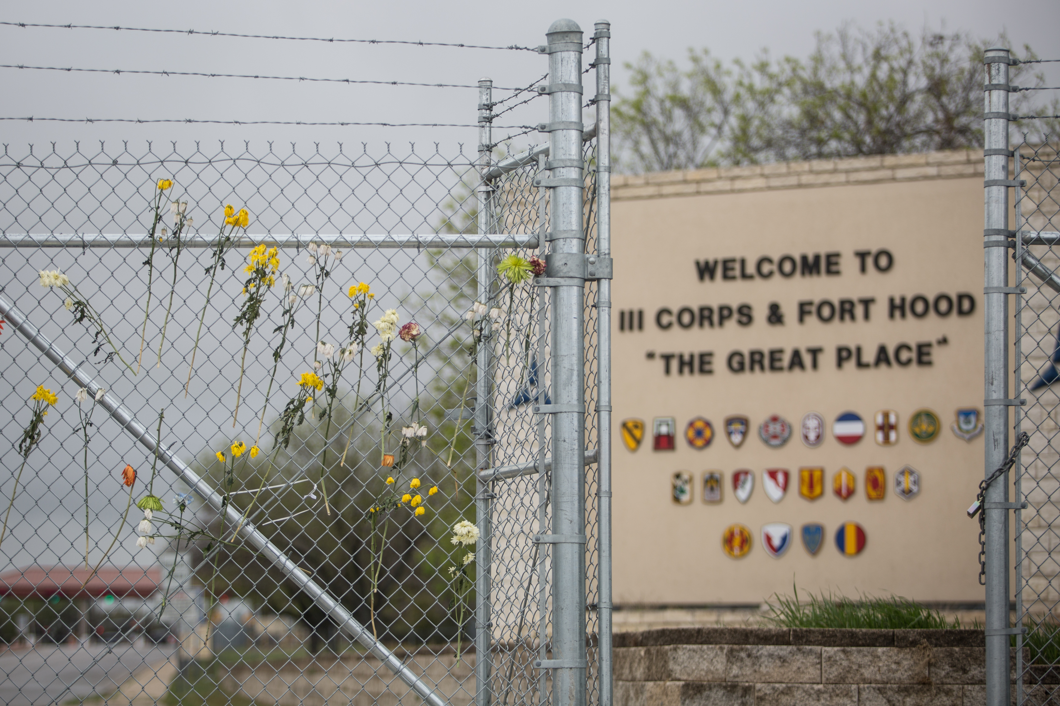 A Fort Hood soldier died Nov. 8 in a vehicle accident during training. (Tamir Kalifa/AP)