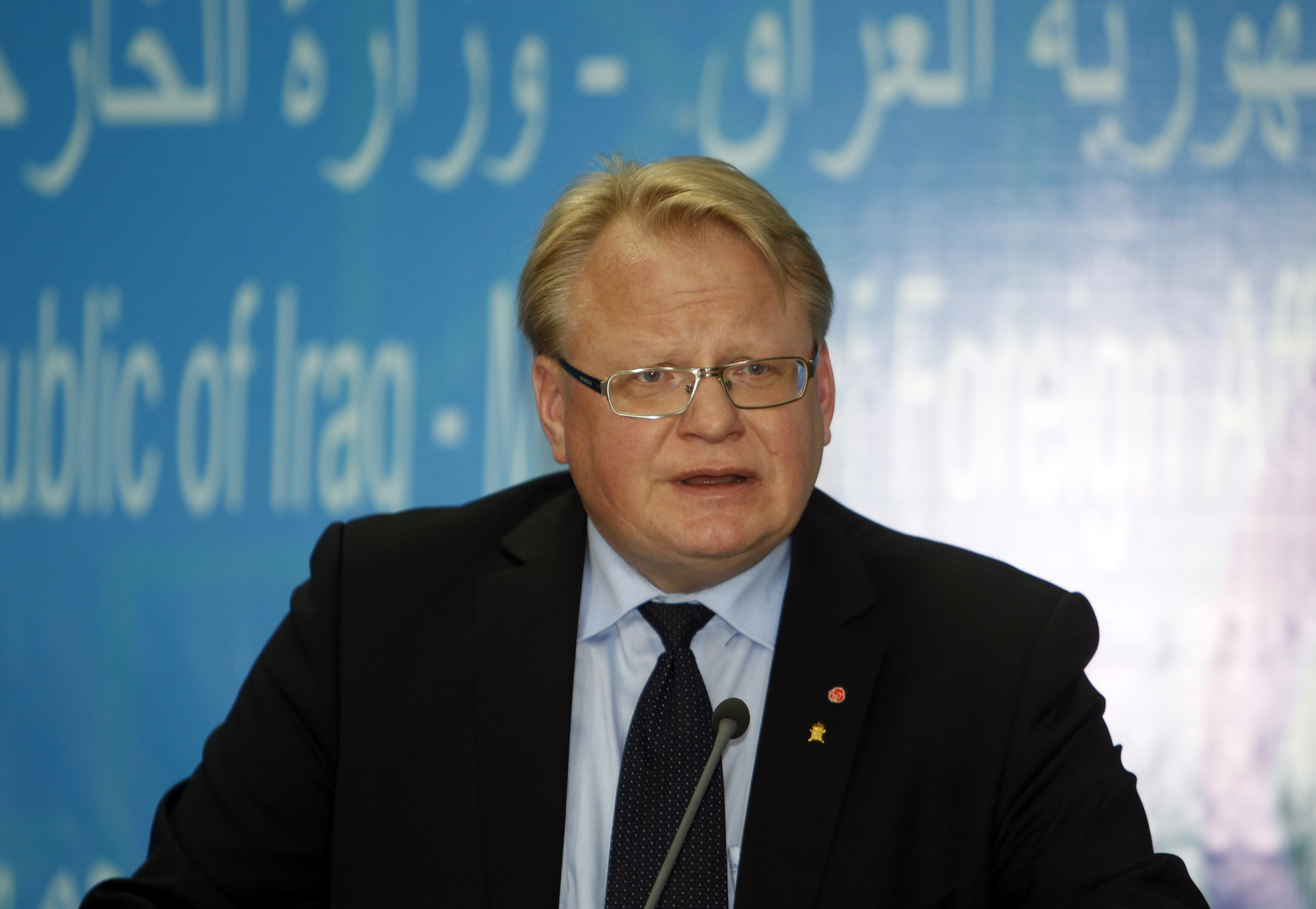 Interview: Swedish Minister of Defence Peter Hultqvist