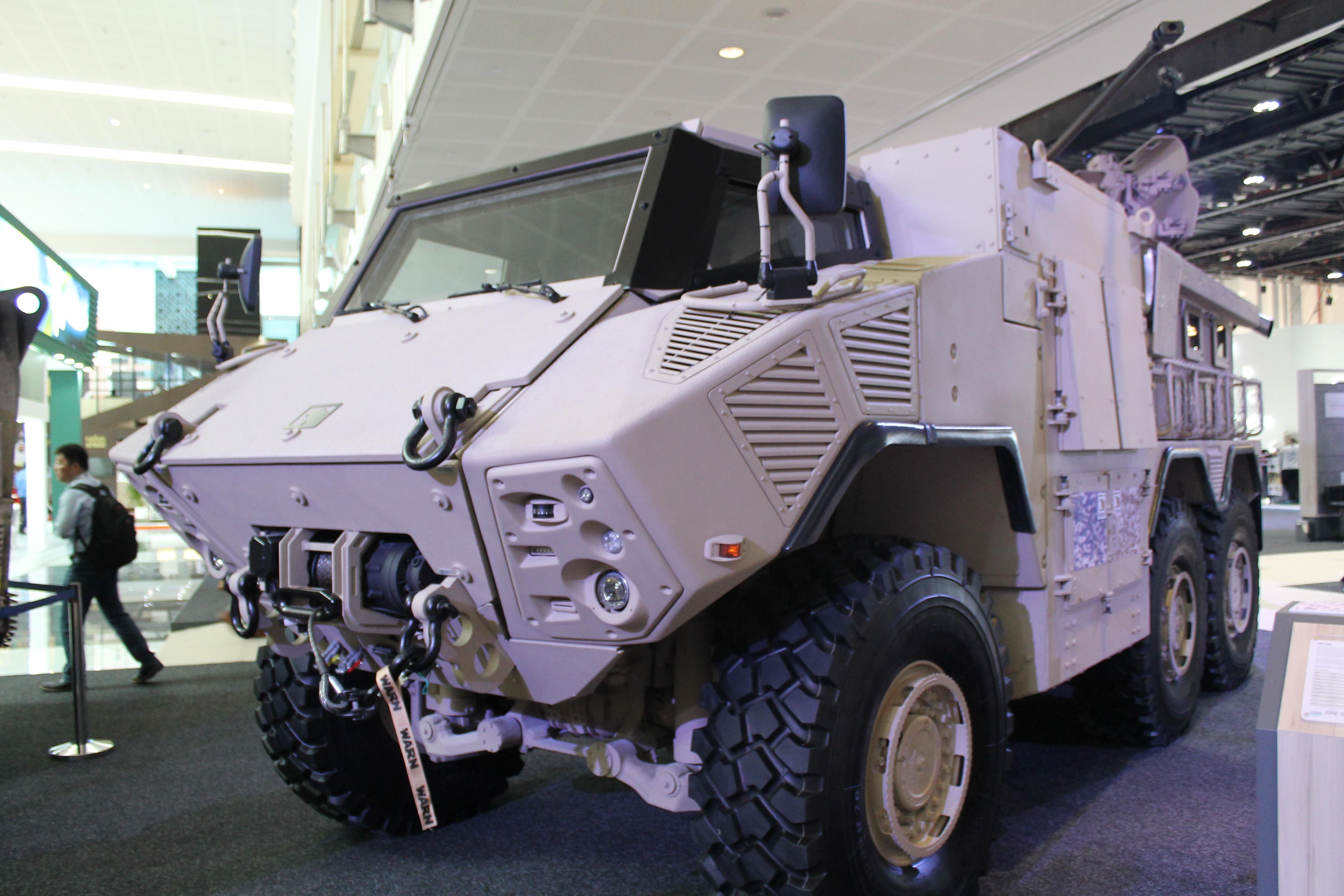 NIMR flexes manufacturing might in UAE; unveils newer, nimbler combat vehicles
