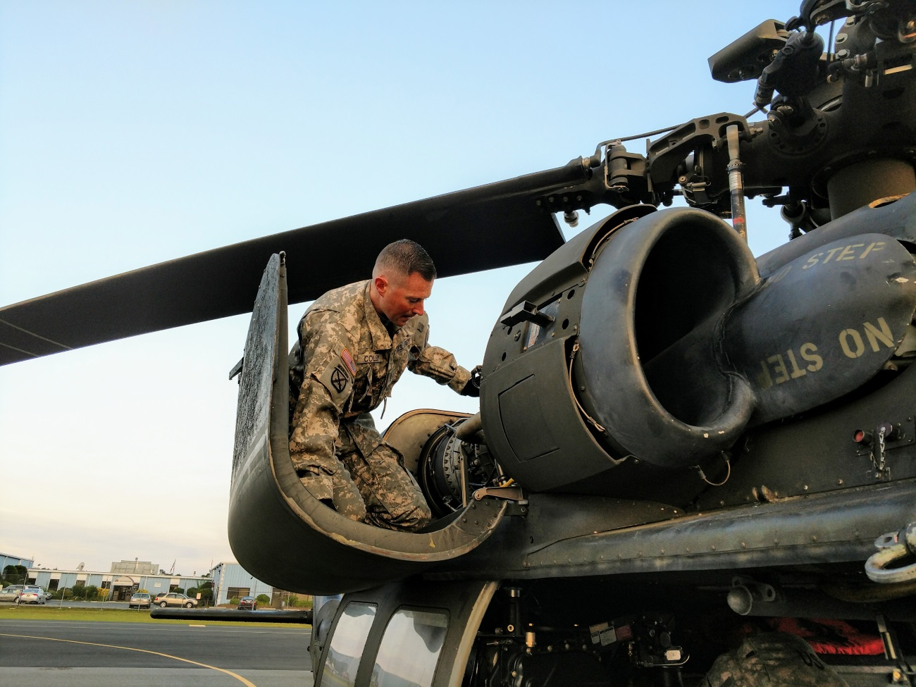 Is maintenance a thing of the past? Army Chief Warrant Officer 2 Kevin Colby conducts preflight inspections on his UH-60 Black Hawk helicopter on Sept. 11, 2017. (Capt. Mark Getman/New York National Guard)