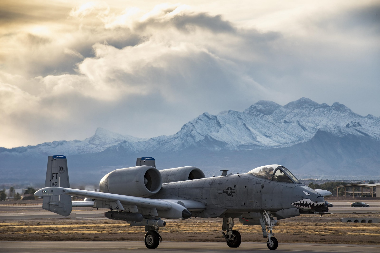 Two A-10s crash during training mission at Nellis Air Force Base