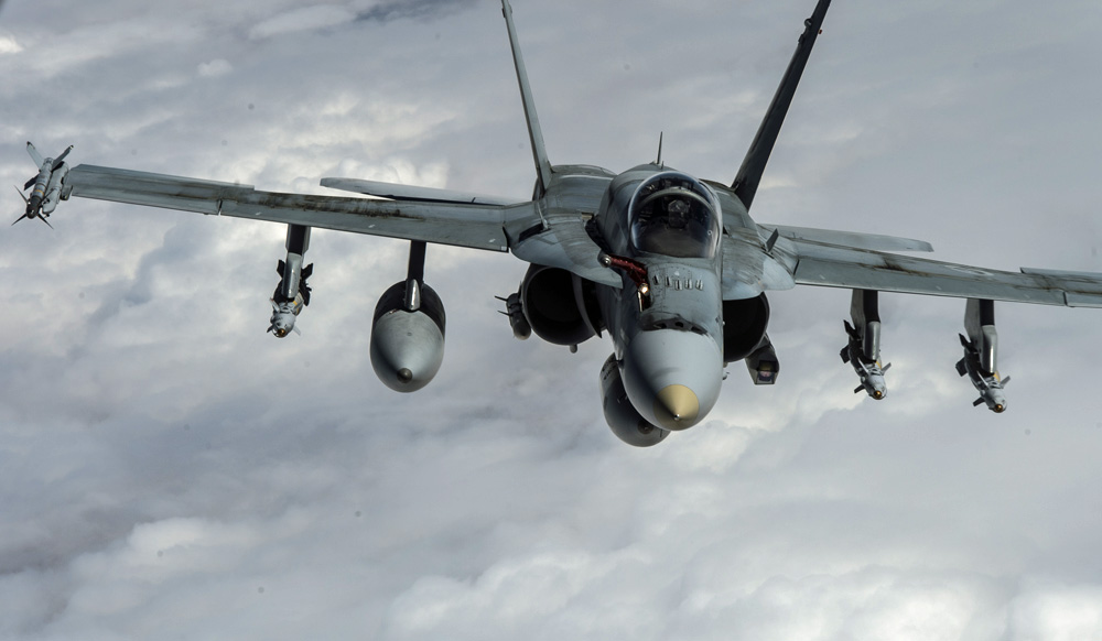 US approves Super Hornet sale ahead of Canadian decision