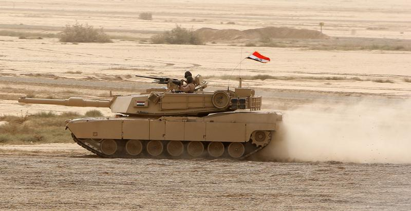 Nine Abrams tanks fell into the hands of Iranian-backed militias during anti-ISIS fight