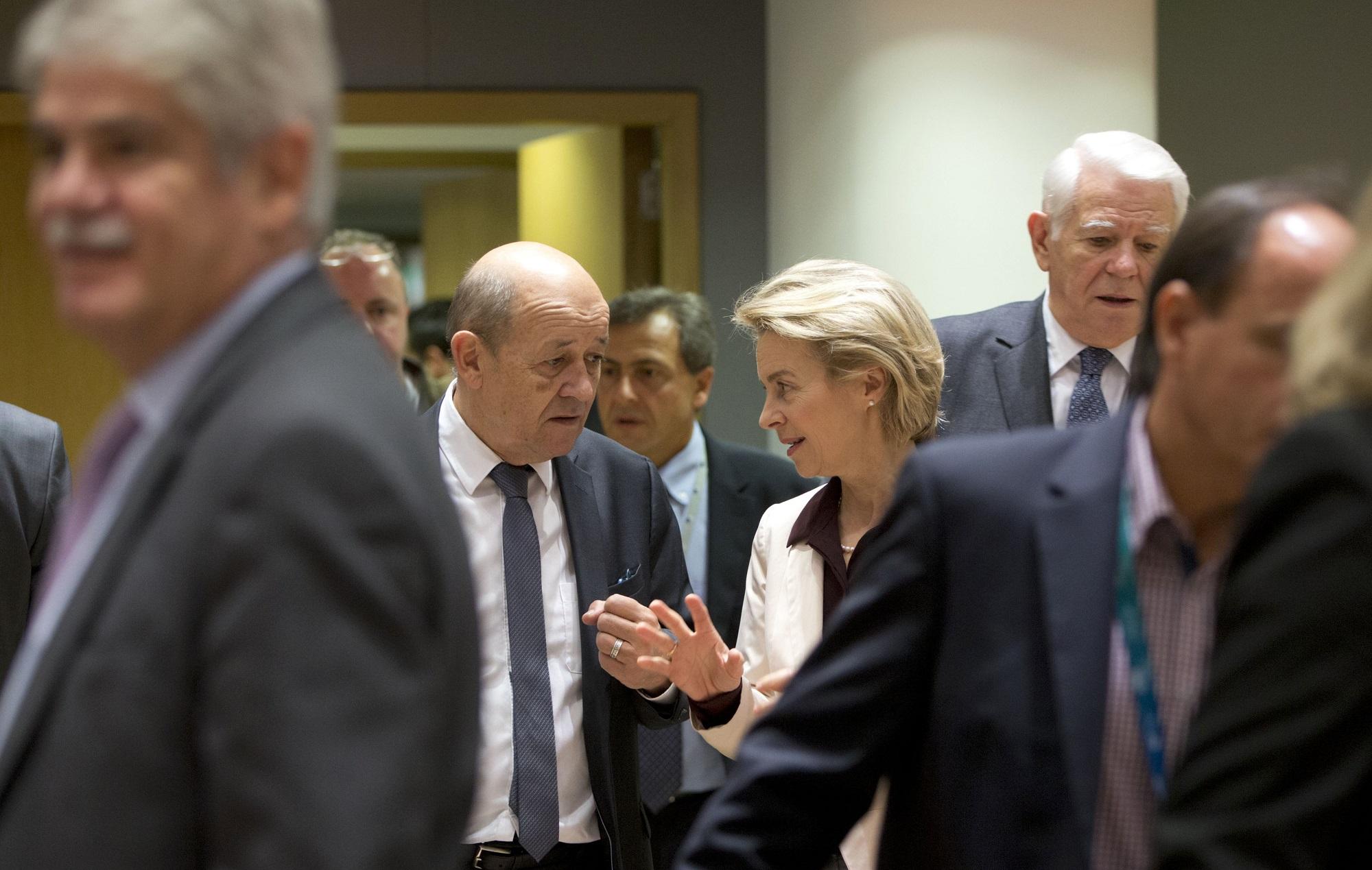 EU launches defense cooperation program, 5 members refuse