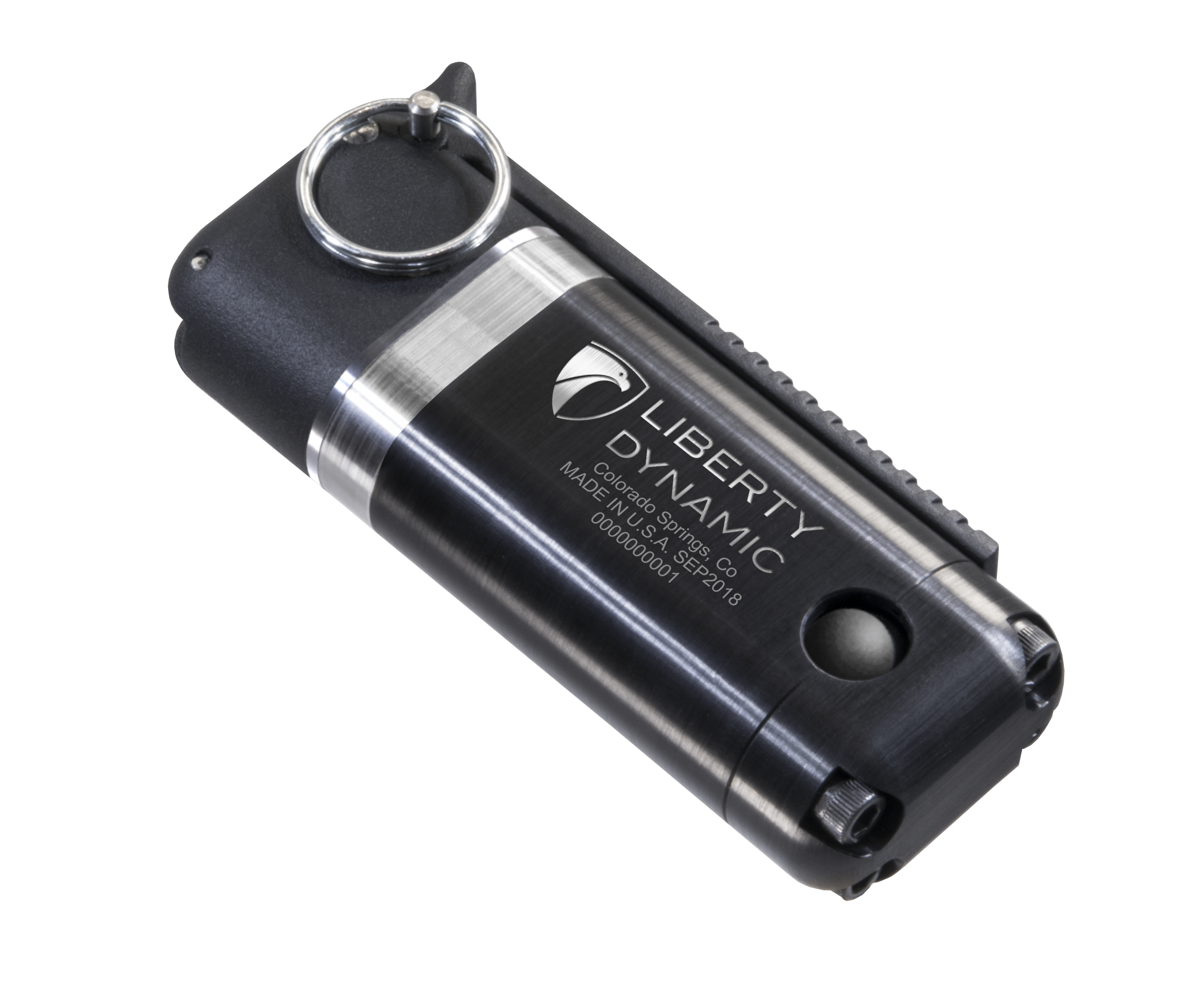 The Enhanced Diversionary Device, by Liberty Dynamic offers users a variety of safety, tactical and timing features not available on present flash bang devices. (Liberty Dynamic)