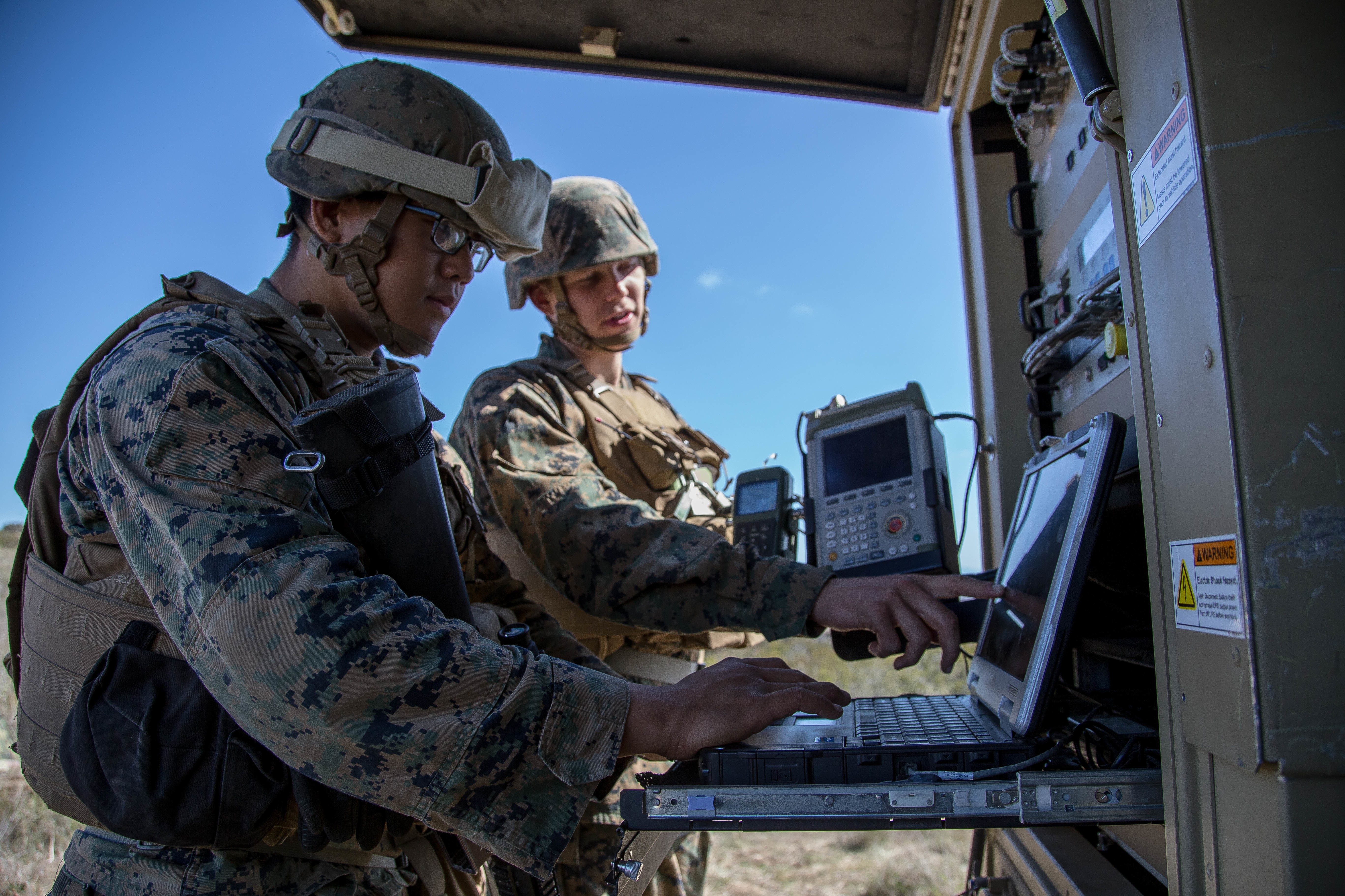 The first tests for the Marines' information warfare teams