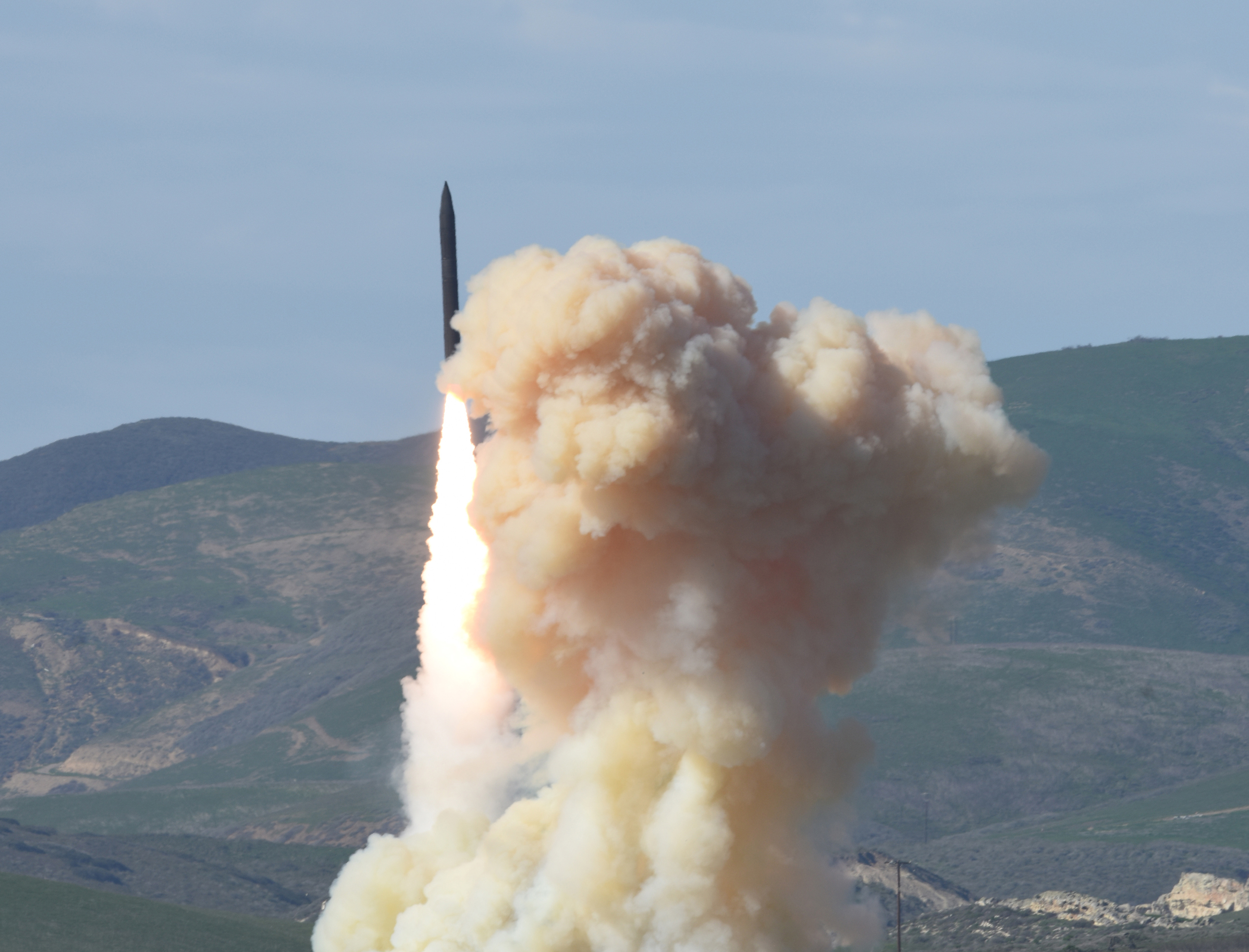 A terrestrial strategy: Hill presses ground and space focus in missile defense review