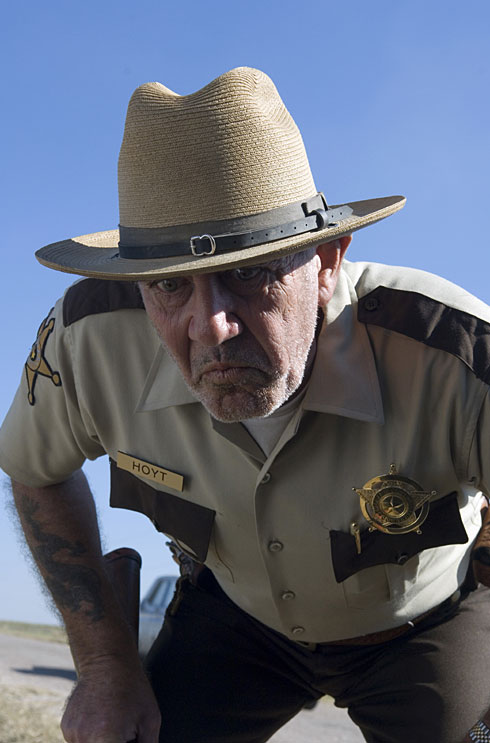 R. Lee Ermey as Sheriff Hoyt in