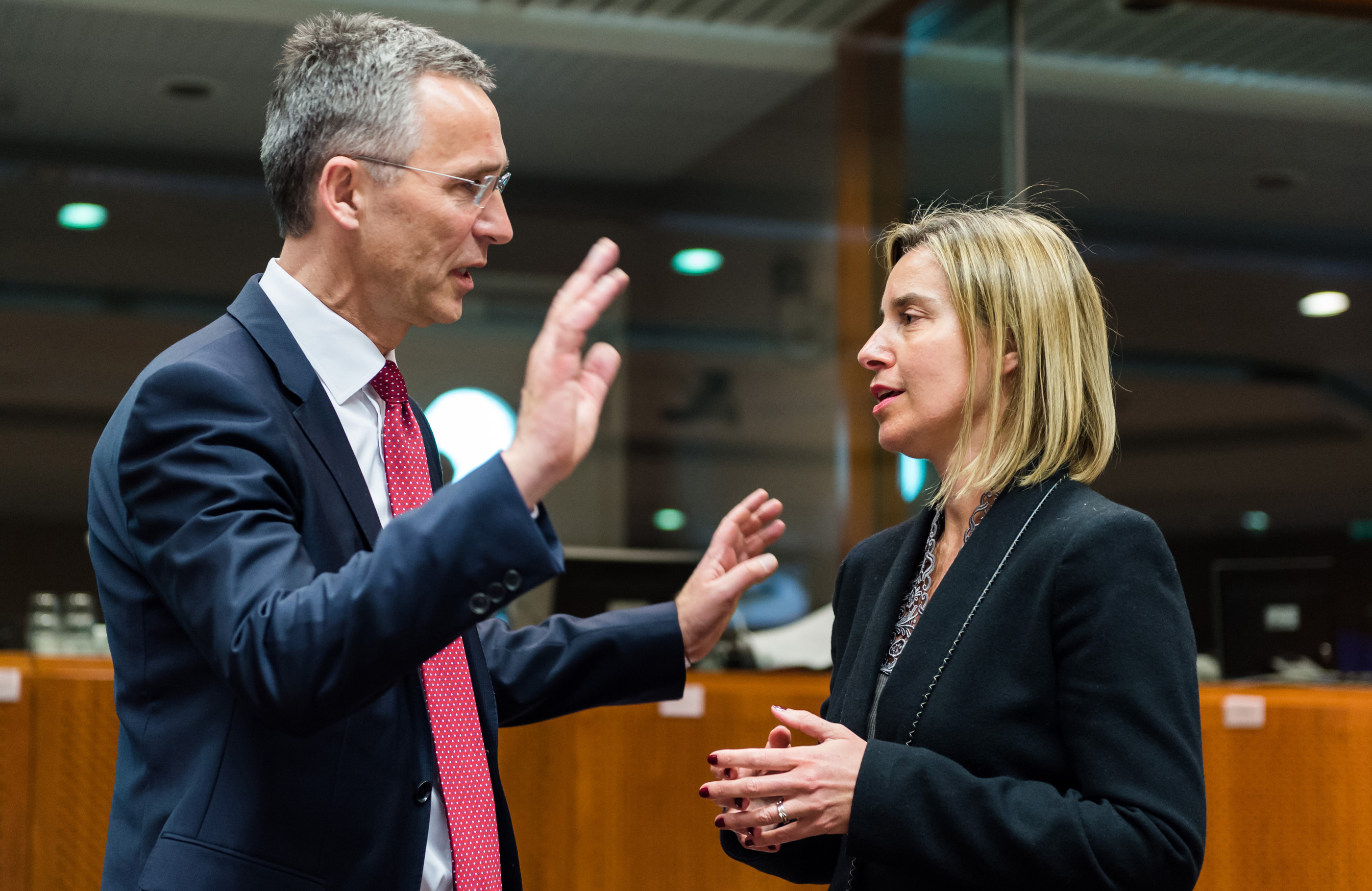 NATO chief calls for cooperation with EU, in three simple steps