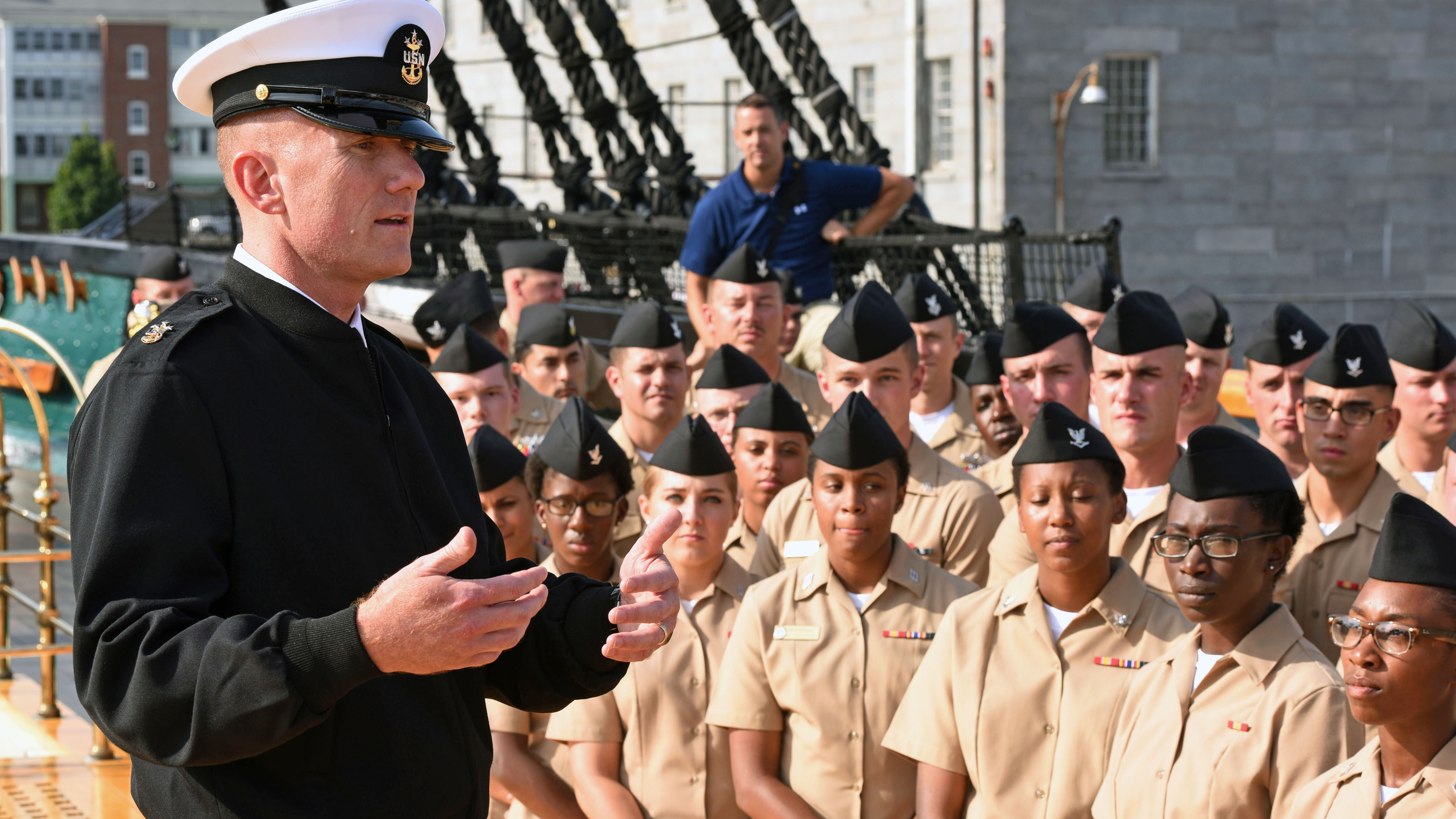 Misconduct nearly ended his career. How tough lessons shaped the new MCPON.