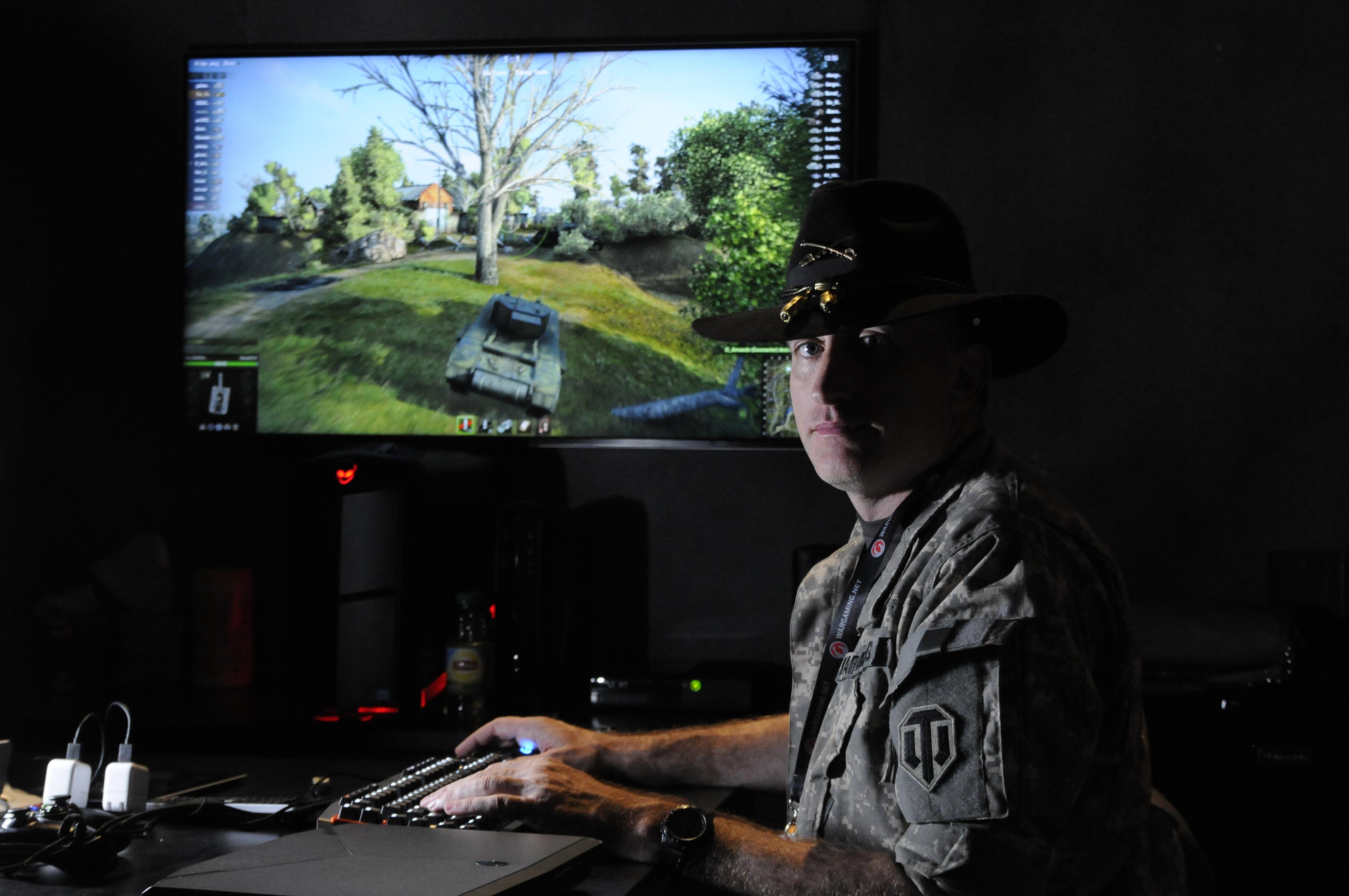 Tanker-historian-gamer has the perfect civilian job