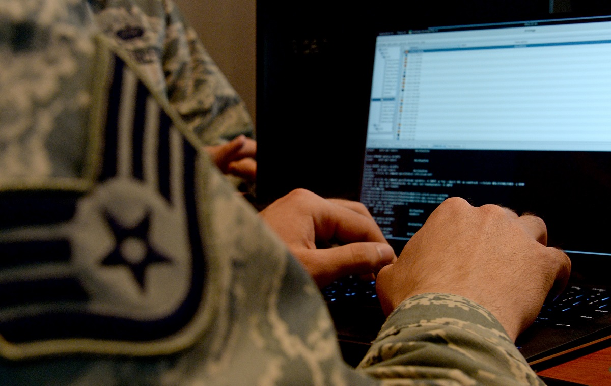 The course load for the Air Force's cyberwarriors