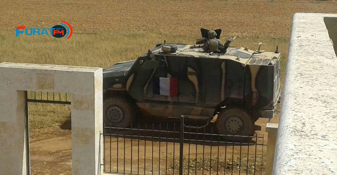 US, French troops seen conducting joint patrol in Manbij, Syria