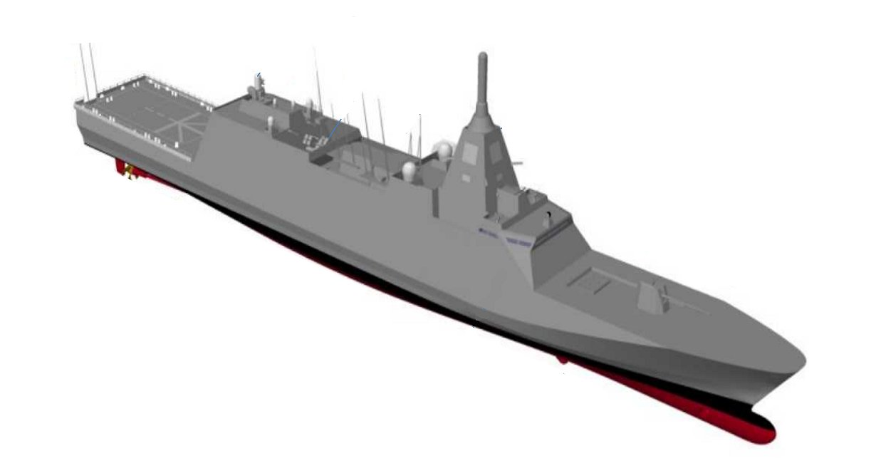Japan chose MHI to design and build Japan's new class of destroyers for its Maritime Self-Defense Force. (MHI via ATLA)