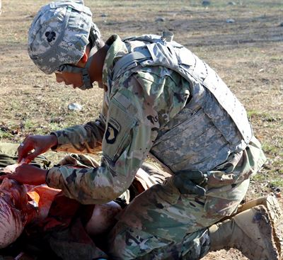 Device would help combat medics document treatment in the field