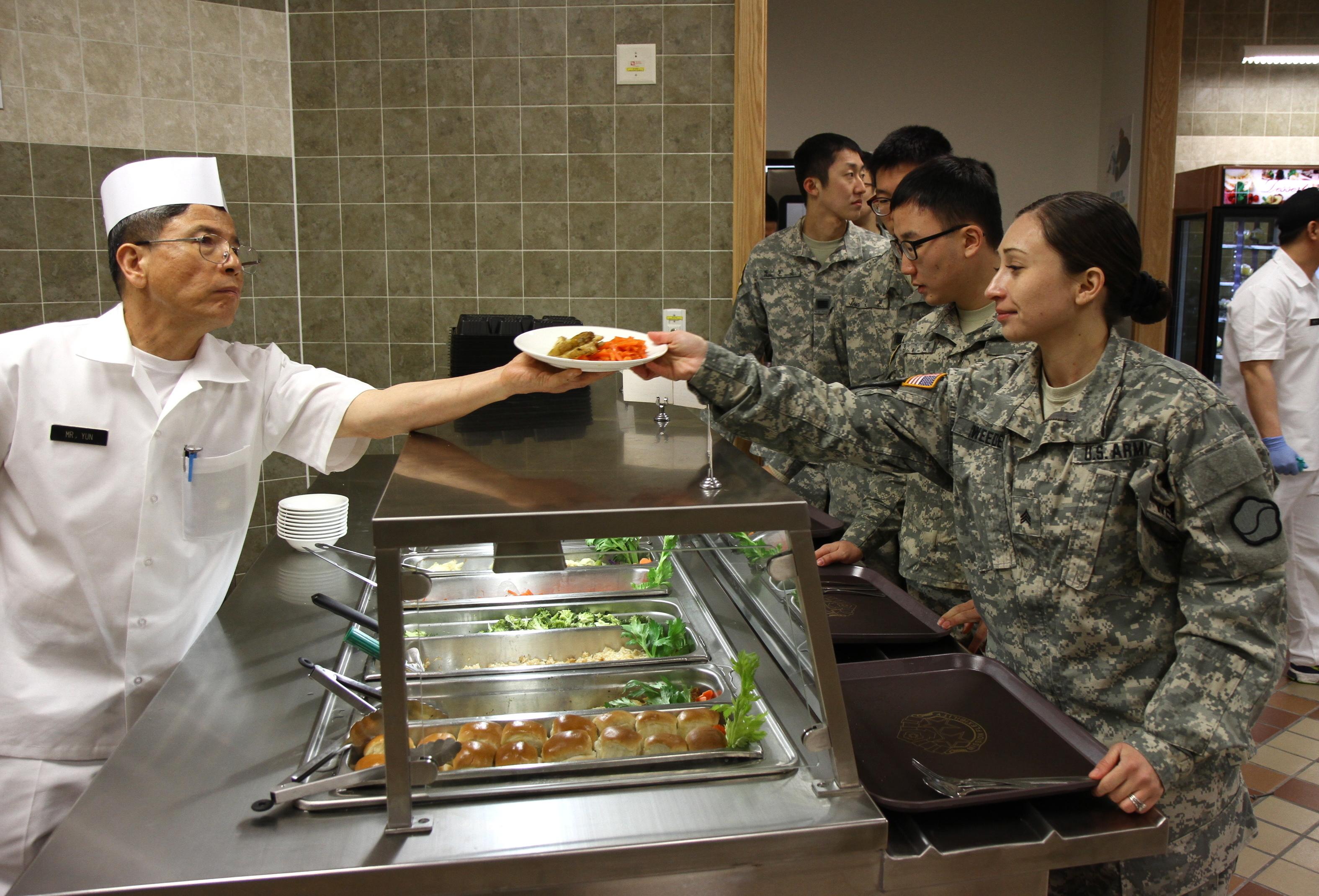 New Army Food Service Uniform