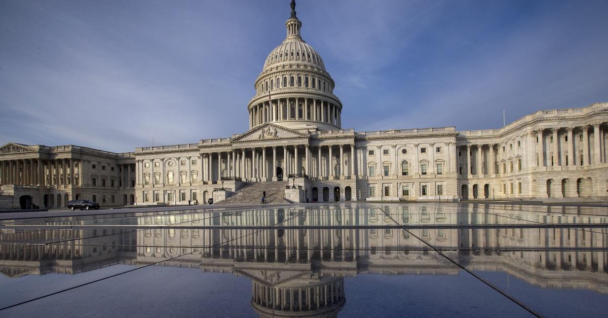 The Capitol is seen in Washington, Wednesday, Jan. 3, 2018. (J. Scott Applewhite/AP)
