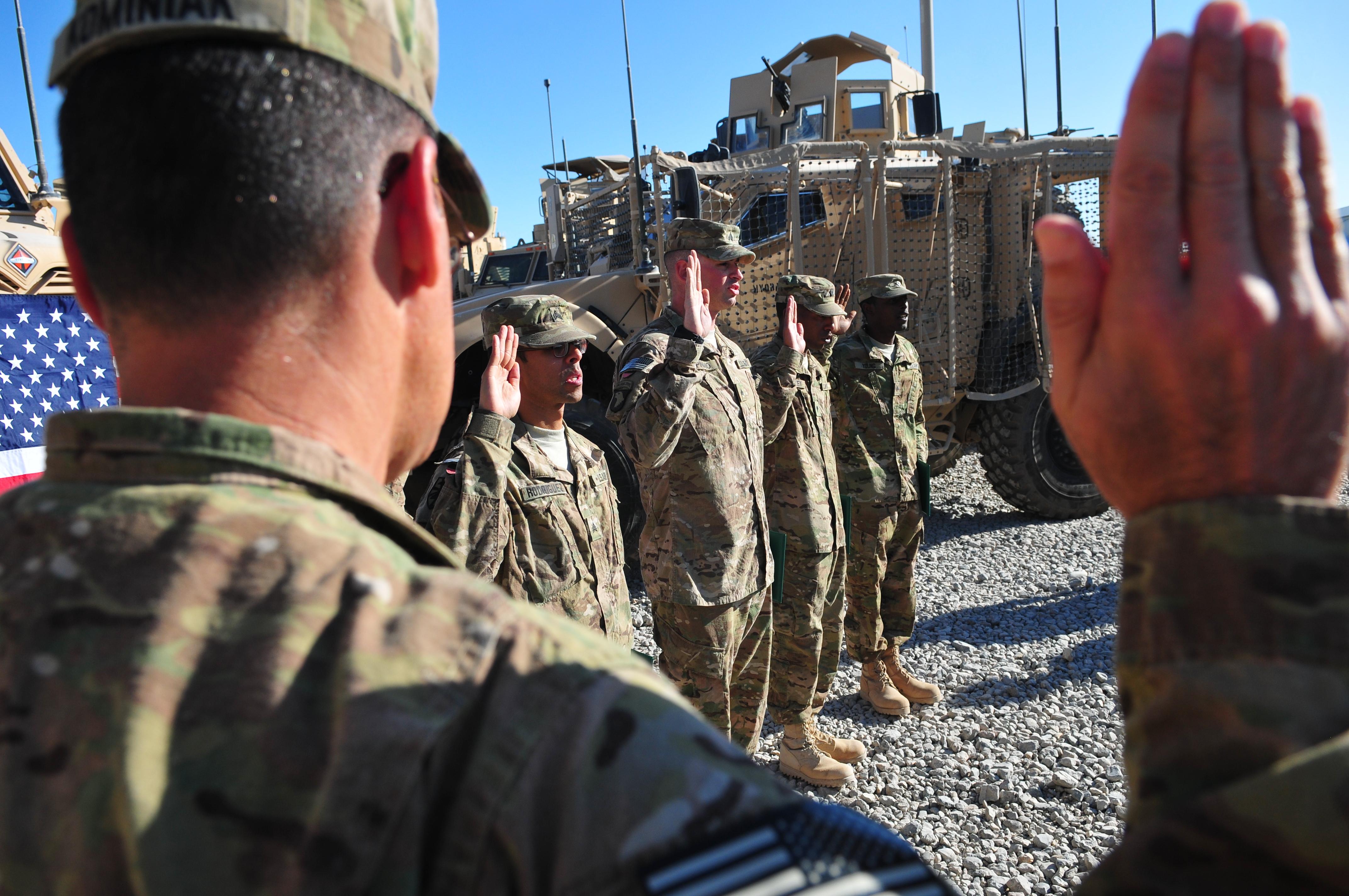 Army ups retention bonuses across all eligible MOSs