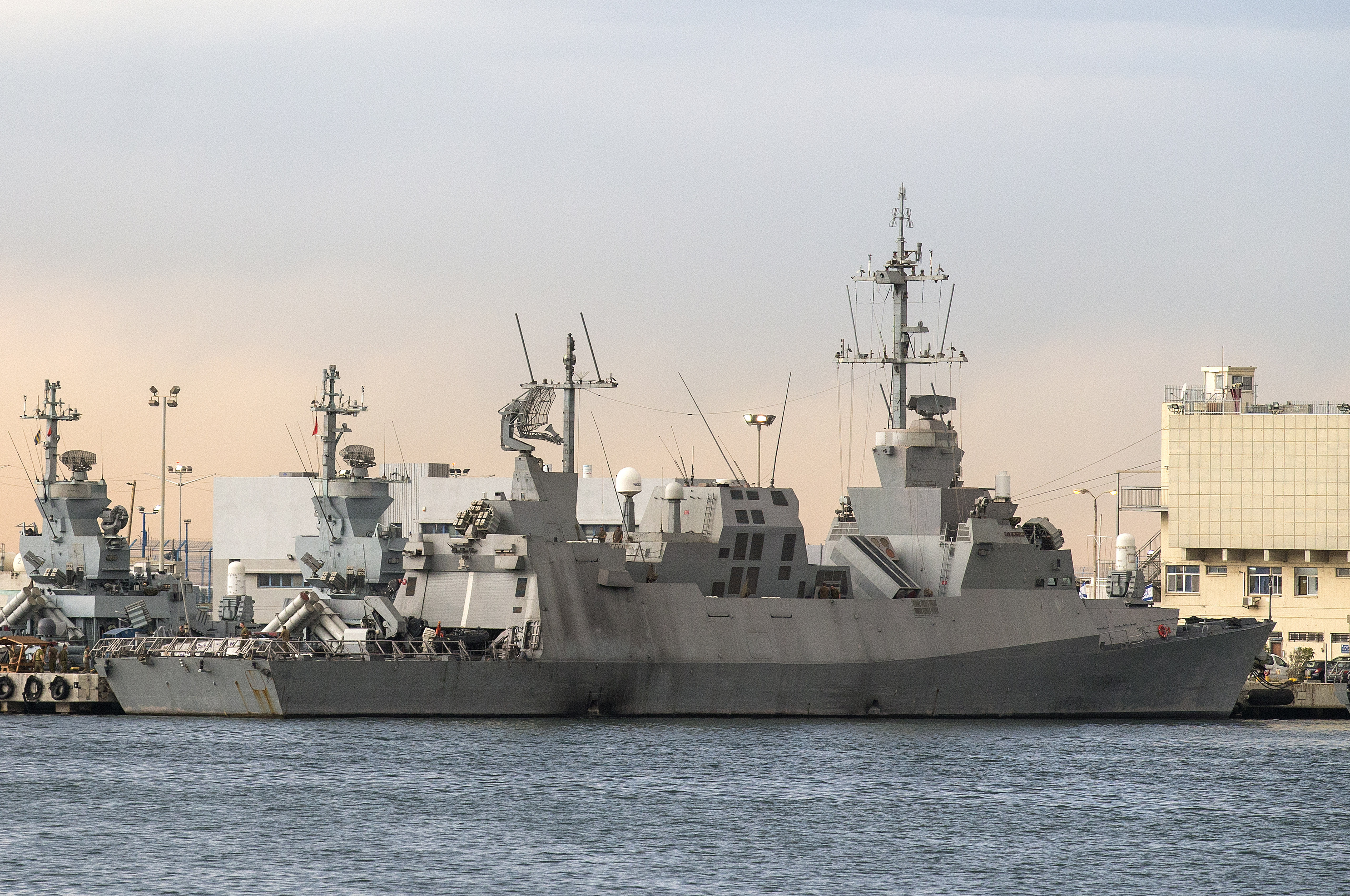 Arc Europe Ltd >> Israel Navy To Upgrade Combat Surface Fleet