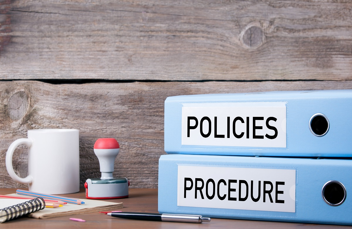 There are policies and procedures on our intranet, but they are vague, out of date and contradictory, so everybody ignores them. Am I crazy to want a rule book so I'm not always guessing what will go through? (tumsasedgars/Getty Images)