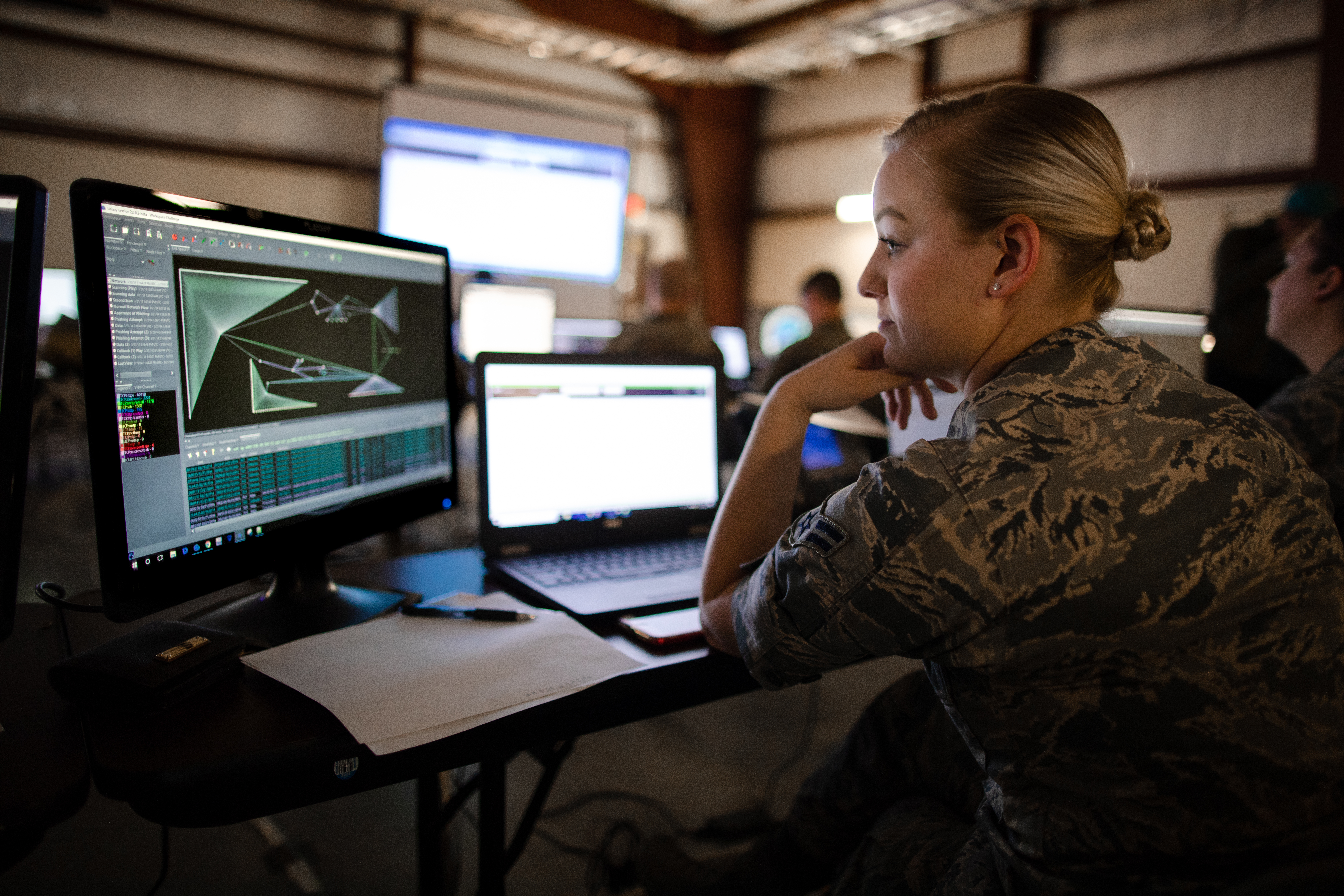Budget documents reveal plans for Unified Platform and Persistent Cyber Training Environment. (Staff Sgt. Jeremiah Runser/National Guard)