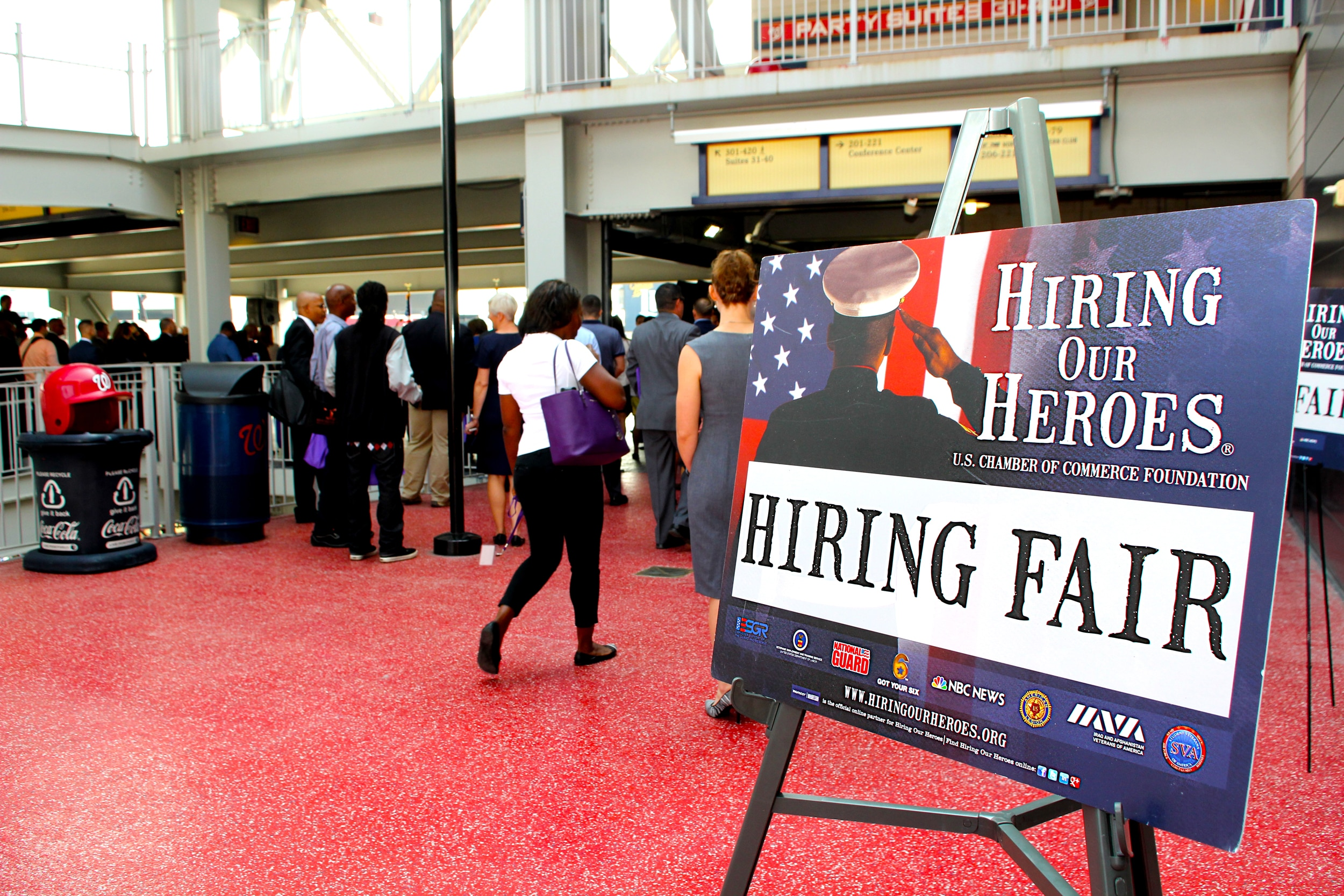 66 military and veteran job fairs through November — events nationwide