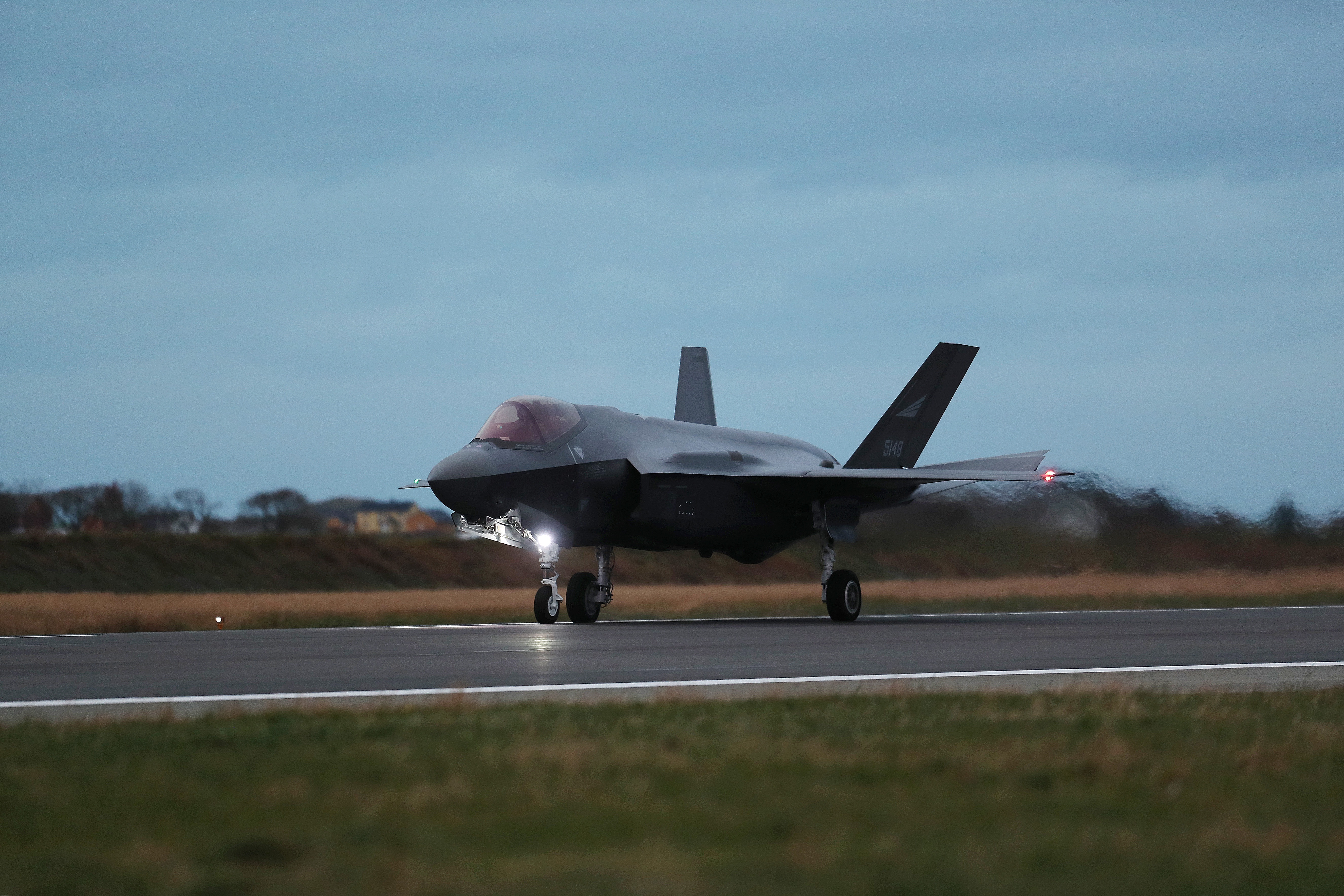Norway accepts its first three F-35s