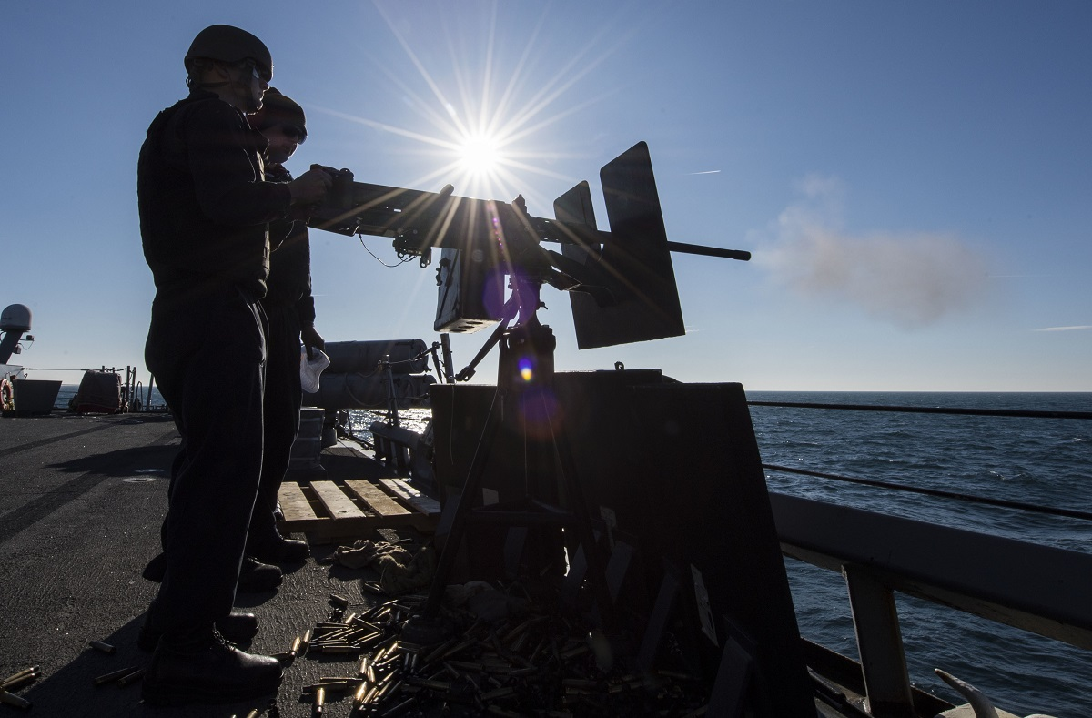 Navy sends destroyers to Black Sea to 'desensitize' Russia