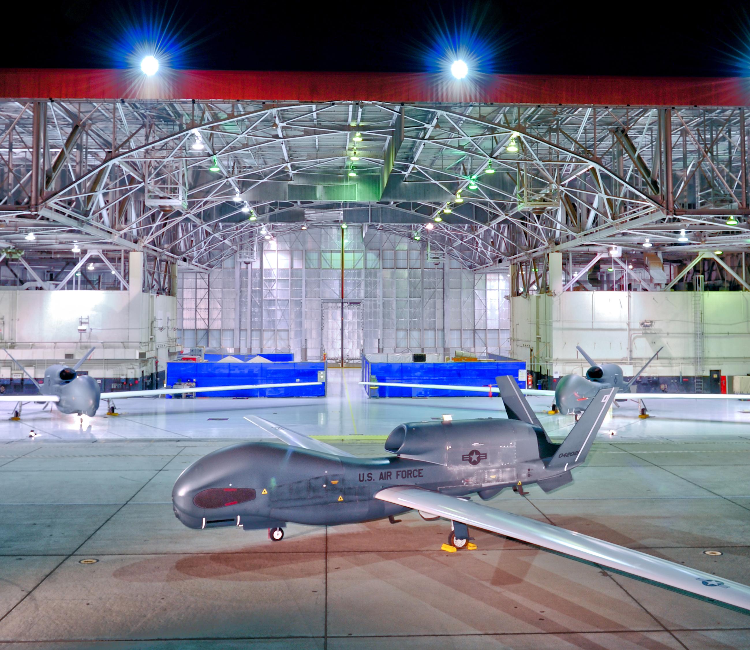 Global Cyber University Korea: South Korea Manufactures Global Hawk Parts