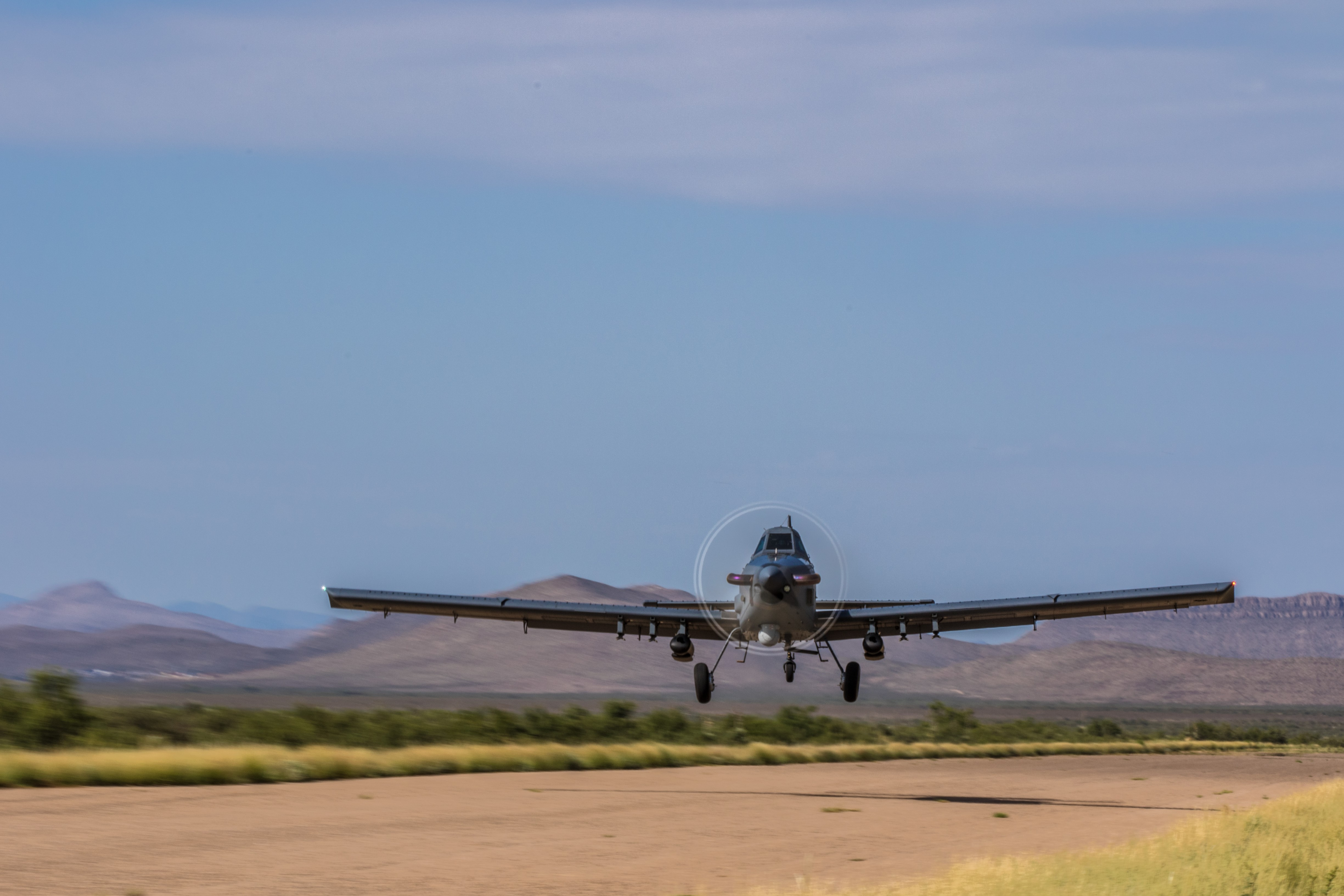 Air Tractor and L3 join OA-X experiment with the AT-802L Longsword