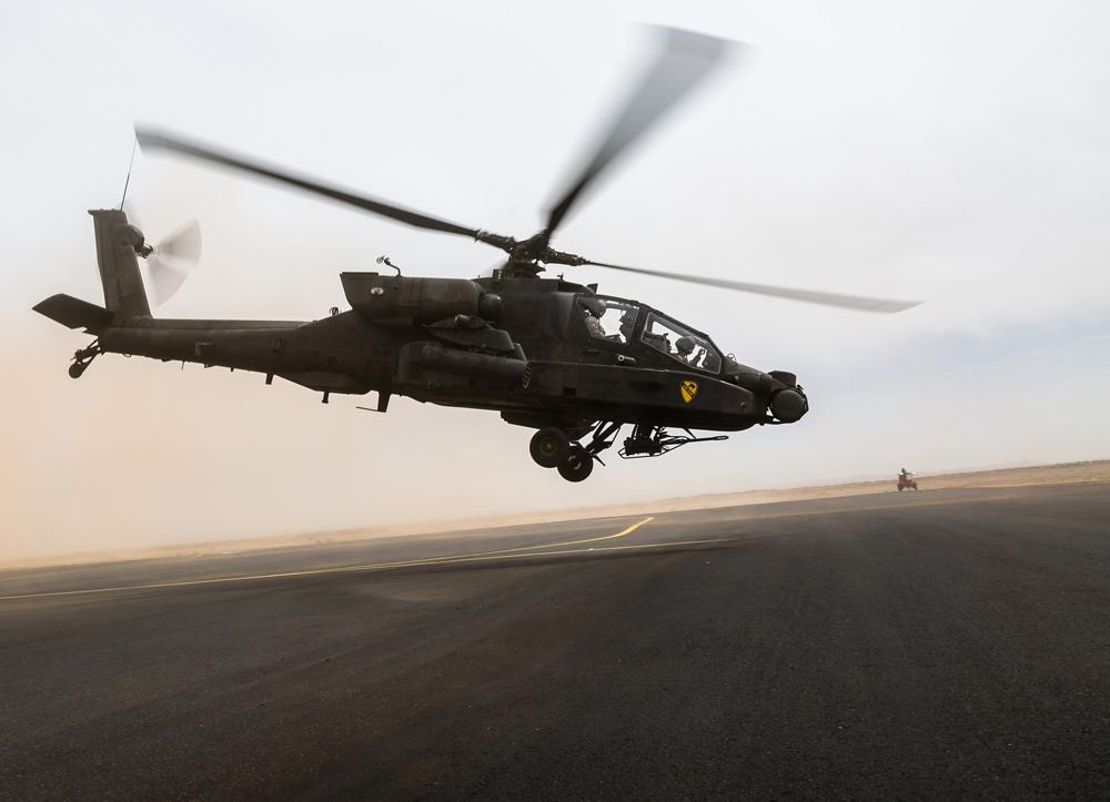 Boeing joint venture preps to overhaul Saudi Apache helicopter fleet