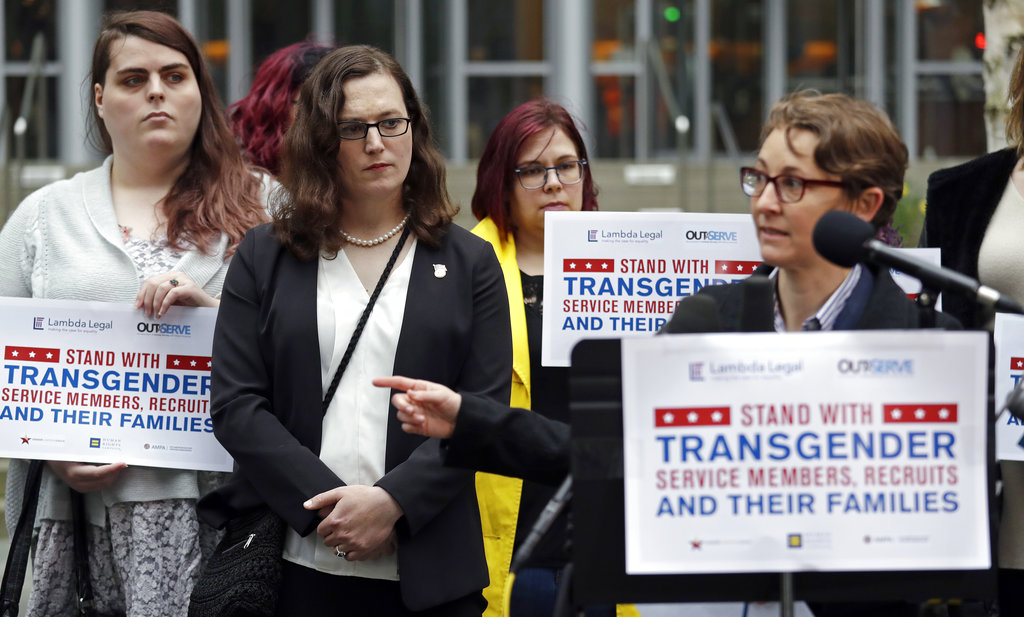 Judge shows scant patience for military transgender ban