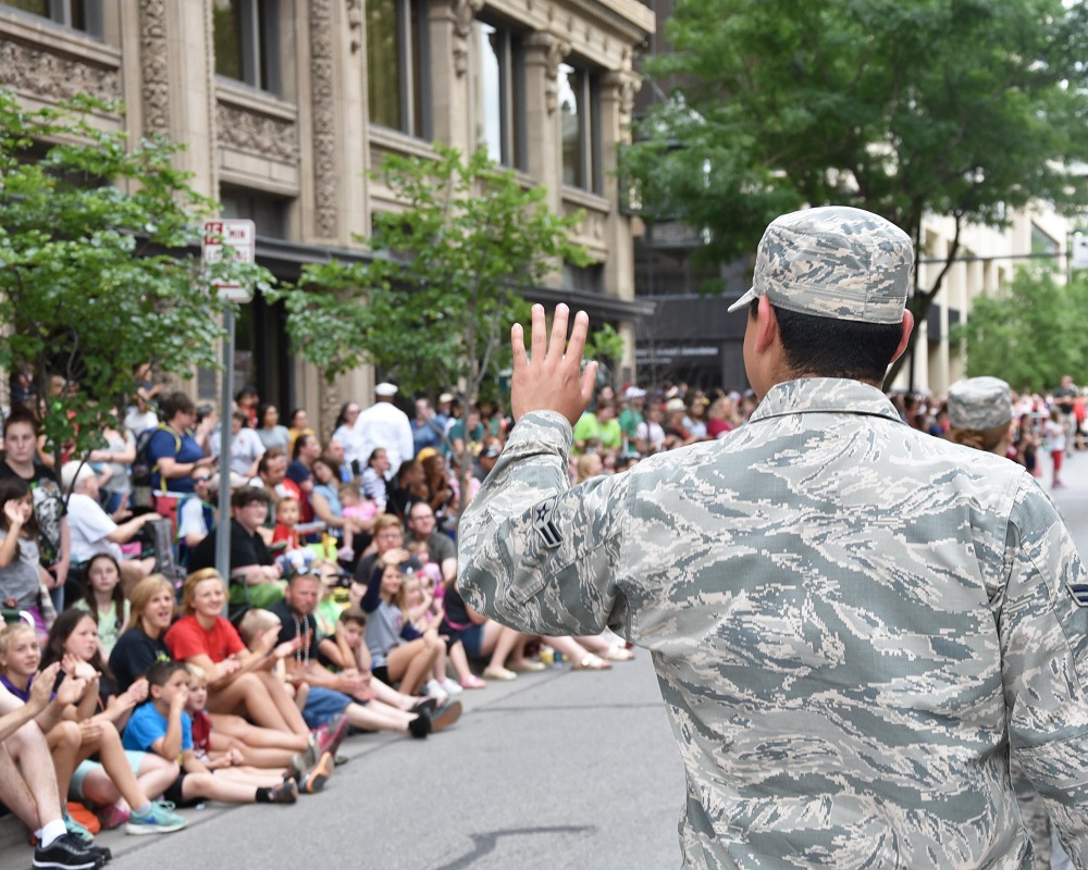 Commentary: Civilians can thank troops, veterans just by paying attention