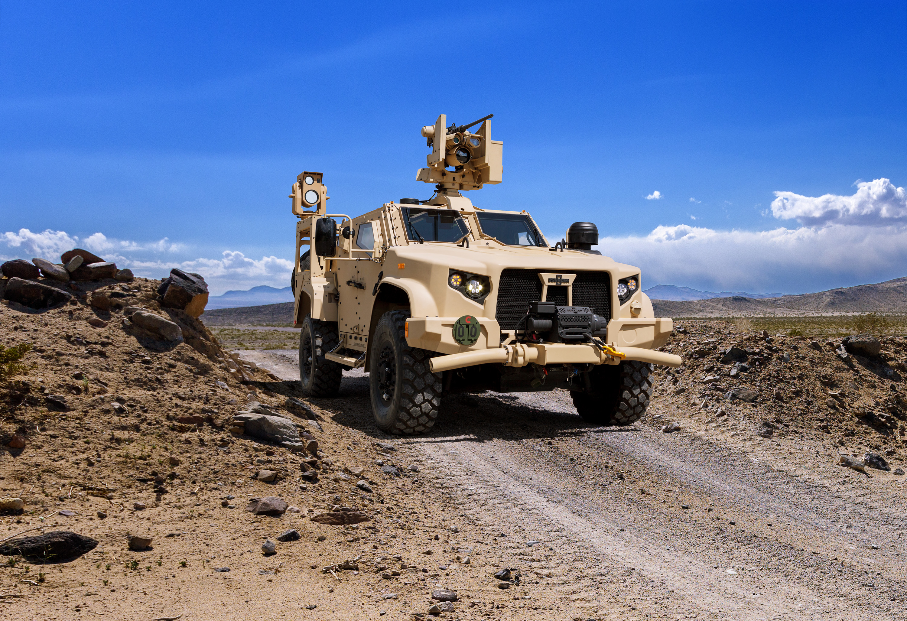 Oshkosh makes Joint Light Tactical Vehicle more lethal